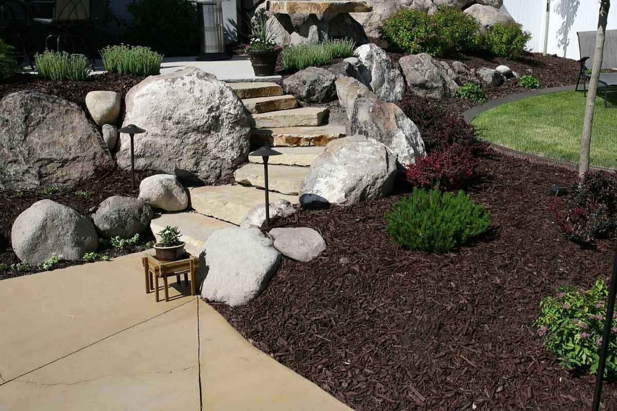 7 Beautifully Simple Front Yard Landscaping Ideas Pertaining To Front Yard Landscaping With Rocks Create Front Yard Landscaping With Rocks
