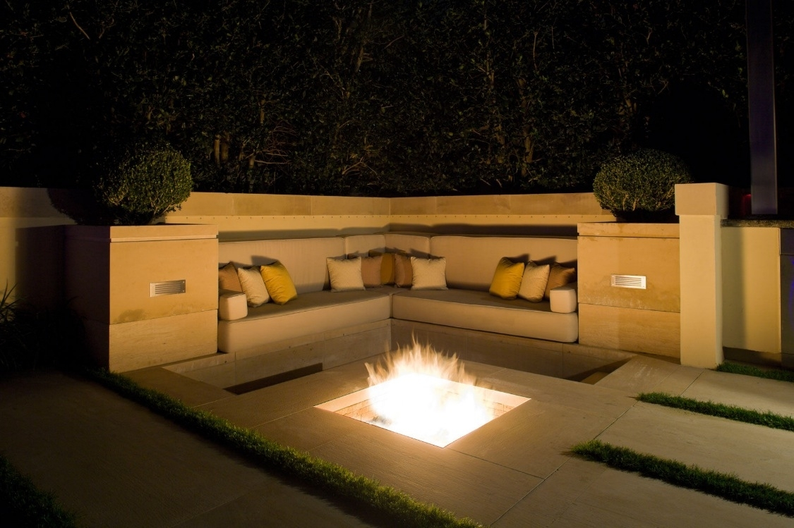 Image of: 9 Inspiring In Ground Fire Pit Designs And Ideas Outdoor Fire Inside Bio Ethanol Outdoor Fireplace Wonderful Bio Ethanol Outdoor Fireplace