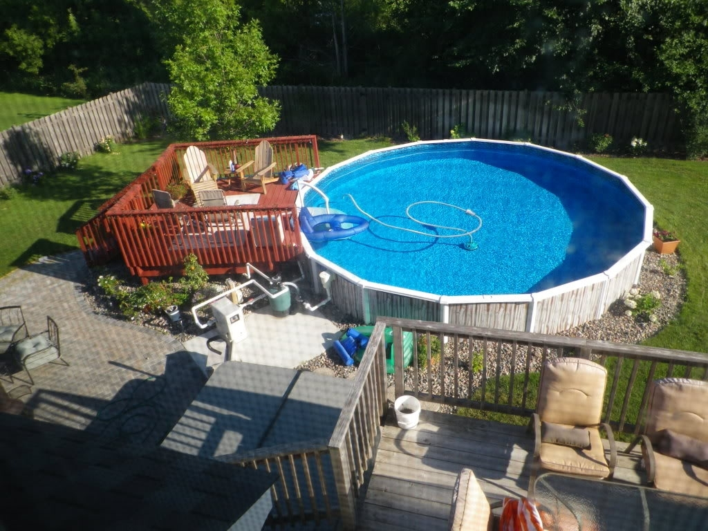 Image of: Above Ground Pool Ideas Backyard Pools Also Landscaping Home Throughout Above Ground Pool Landscaping Ideas Above Ground Pool Landscaping