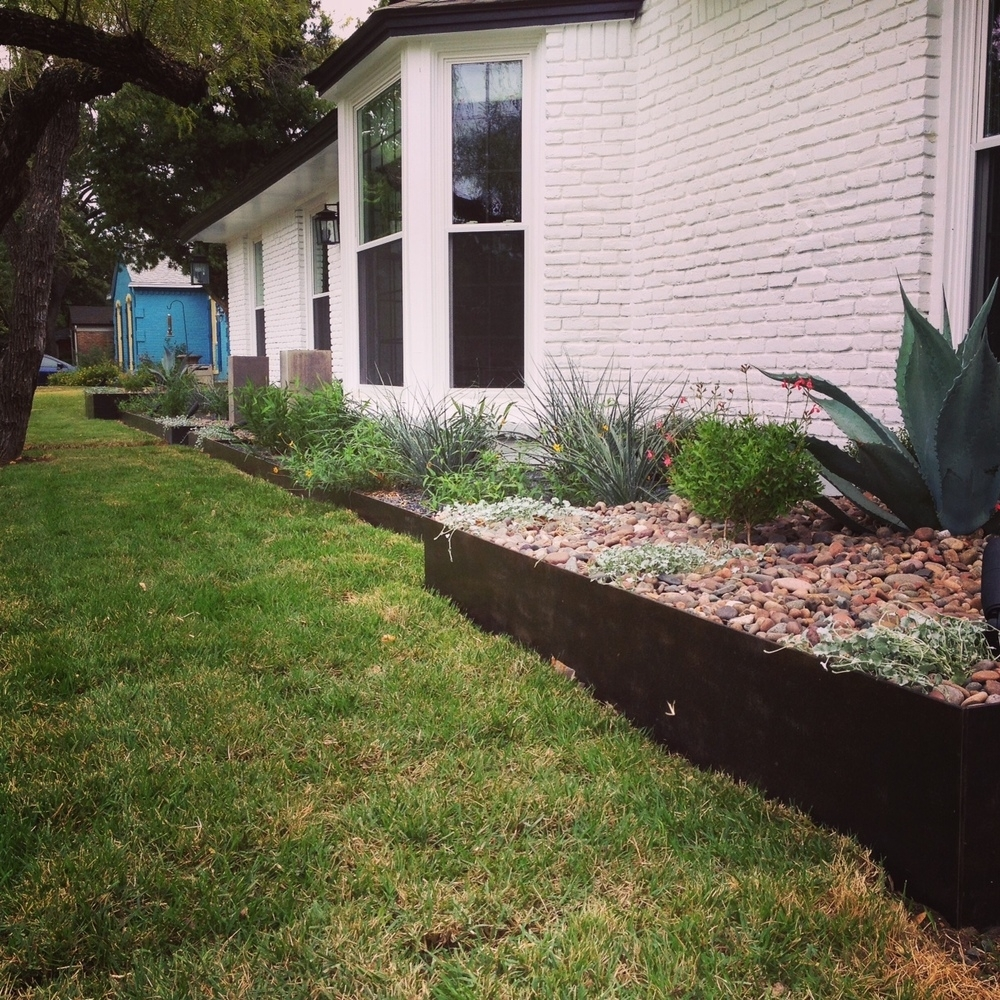Image of: Terra Dura Landscapes Regarding Landscape Metal Edging Garden