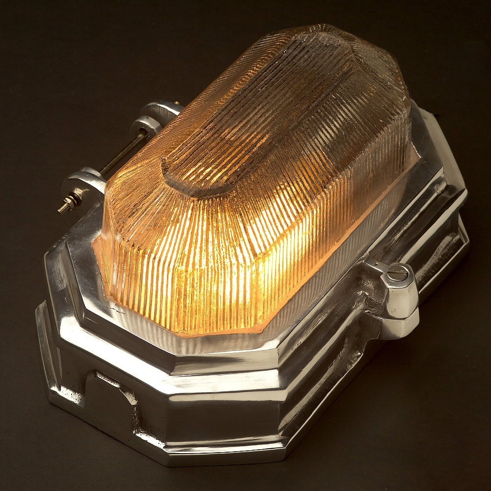 Image of: Aluminium Art Deco Bulkhead Light Pertaining To Outdoor Bulkhead Lighting Wonderful Garden Outdoor Bulkhead Lighting