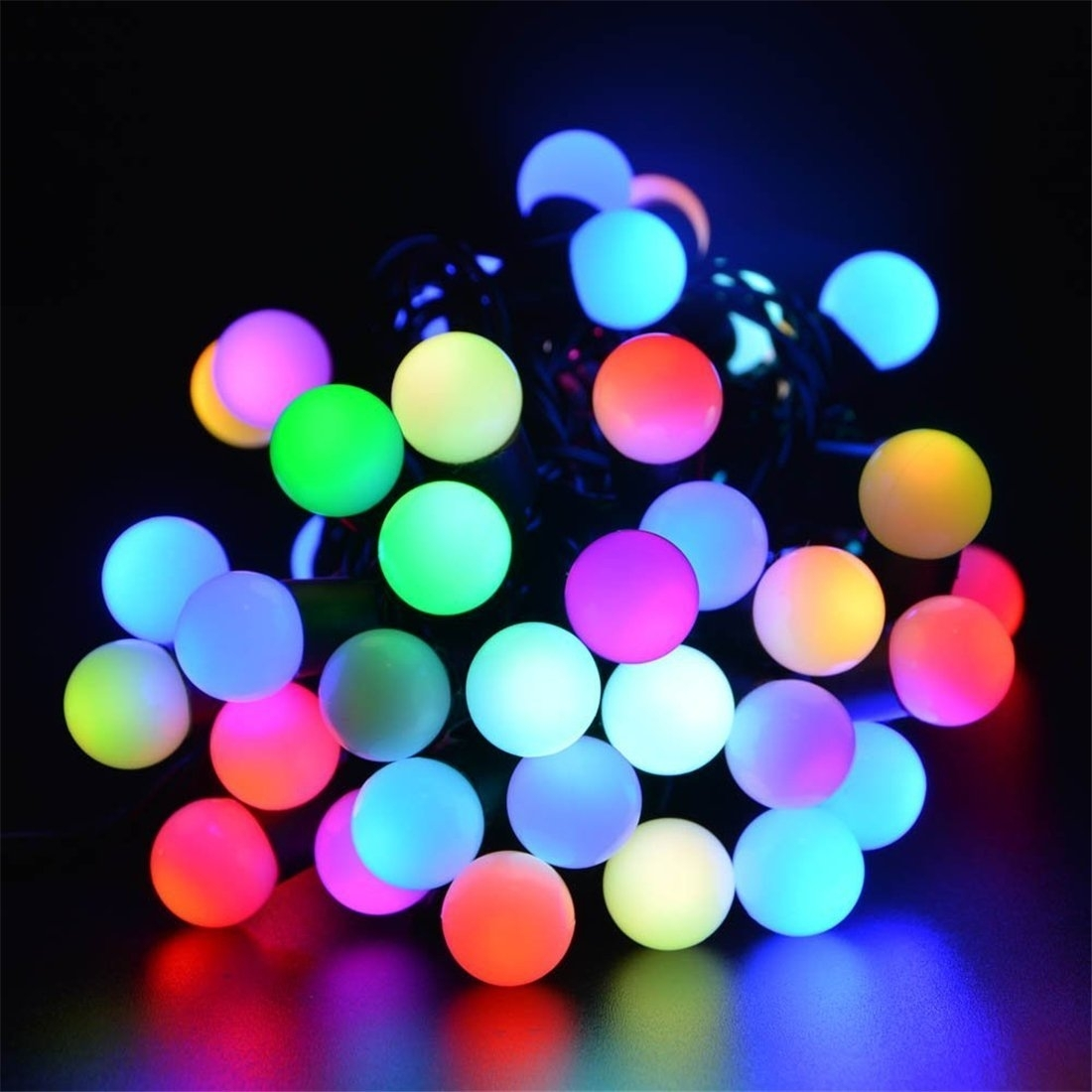 Image of: Amazon Innlight Led Globe String Lights With Color Changing Inside Novelty Outdoor Lights Decorating With Novelty Outdoor Lights