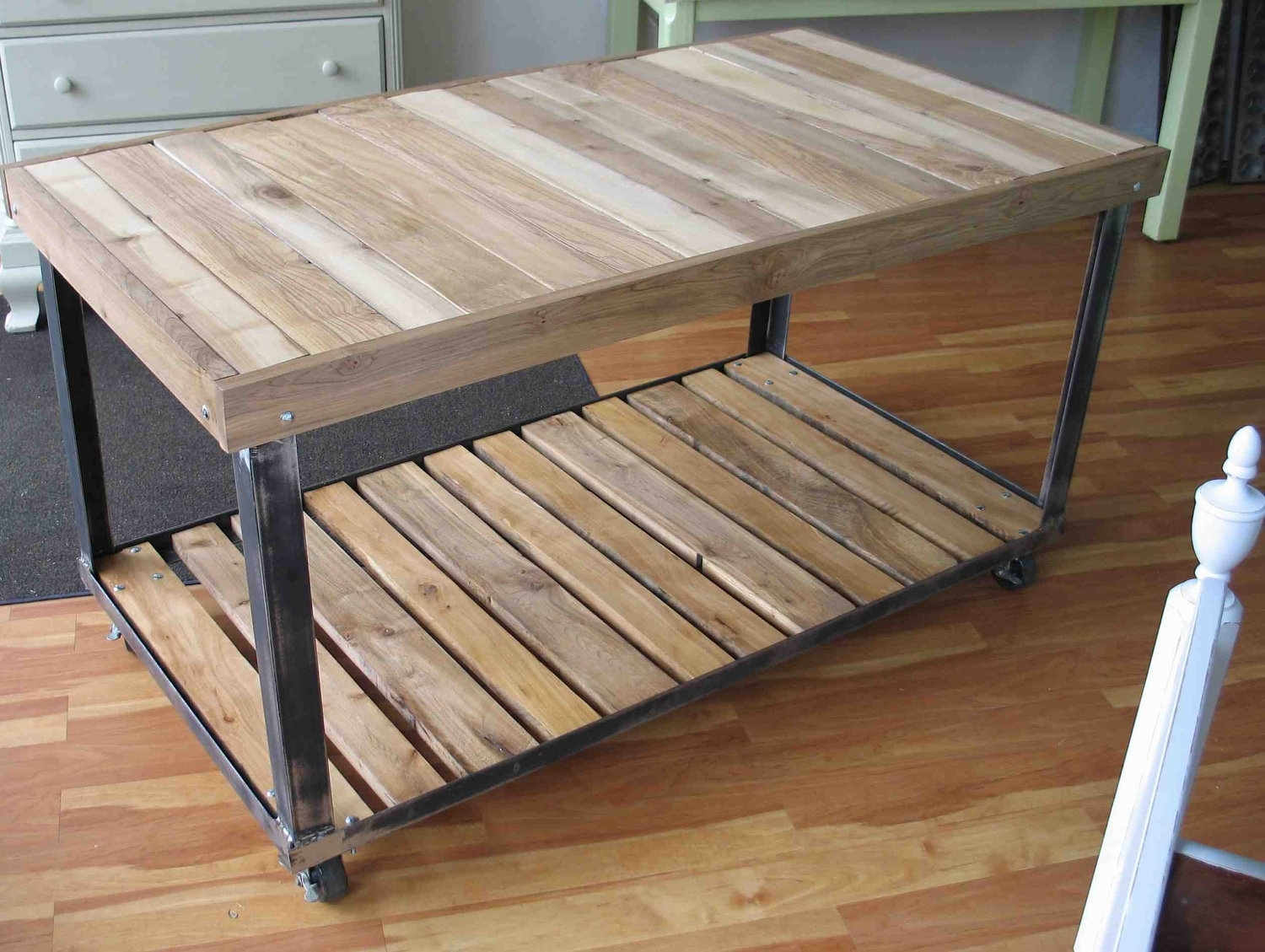 Image of: Angle Iron Work Table Work Table Pinterest Iron Work Iron Regarding Outdoor Kitchen Work Table Outdoor Kitchen Work Table Ideas