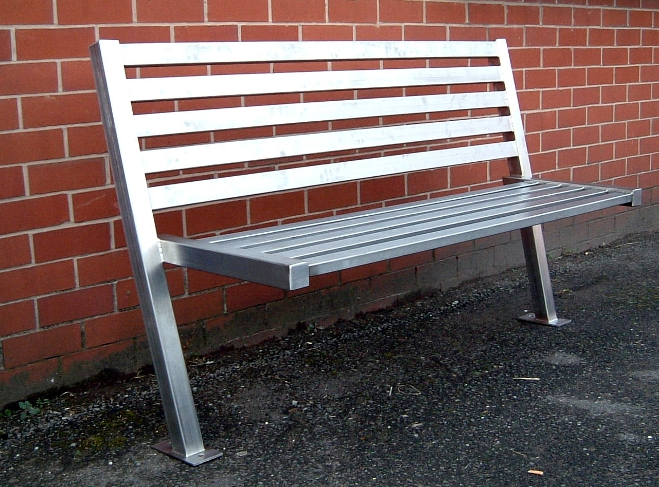 Image of: Arc Product 3 Intended For Outdoor Stainless Steel Furniture Great Outdoor Stainless Steel Furniture