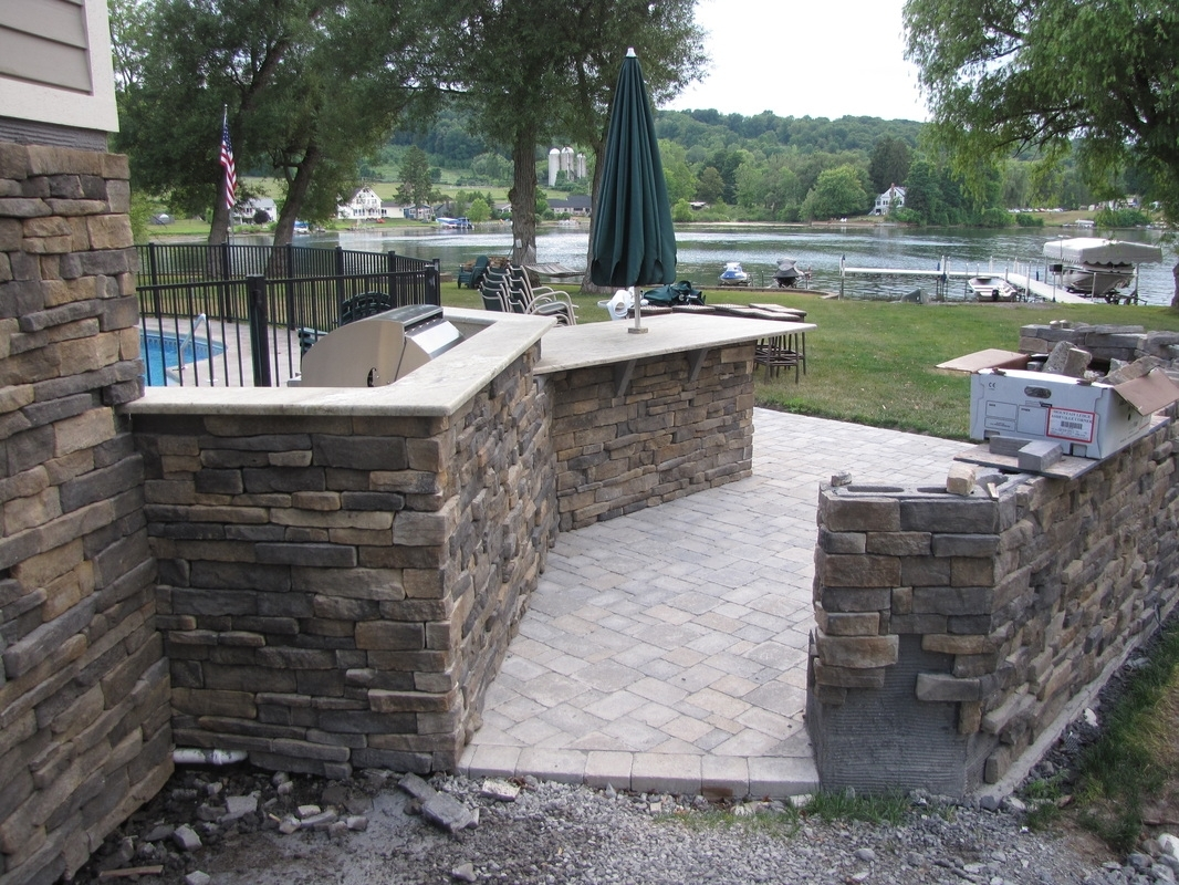 Image of: Ashville Mountain Ledge Eldorado Stone Co Diy And Project With Regard To Eldorado Stone Outdoor Kitchen Eldorado Stone Outdoor Kitchen