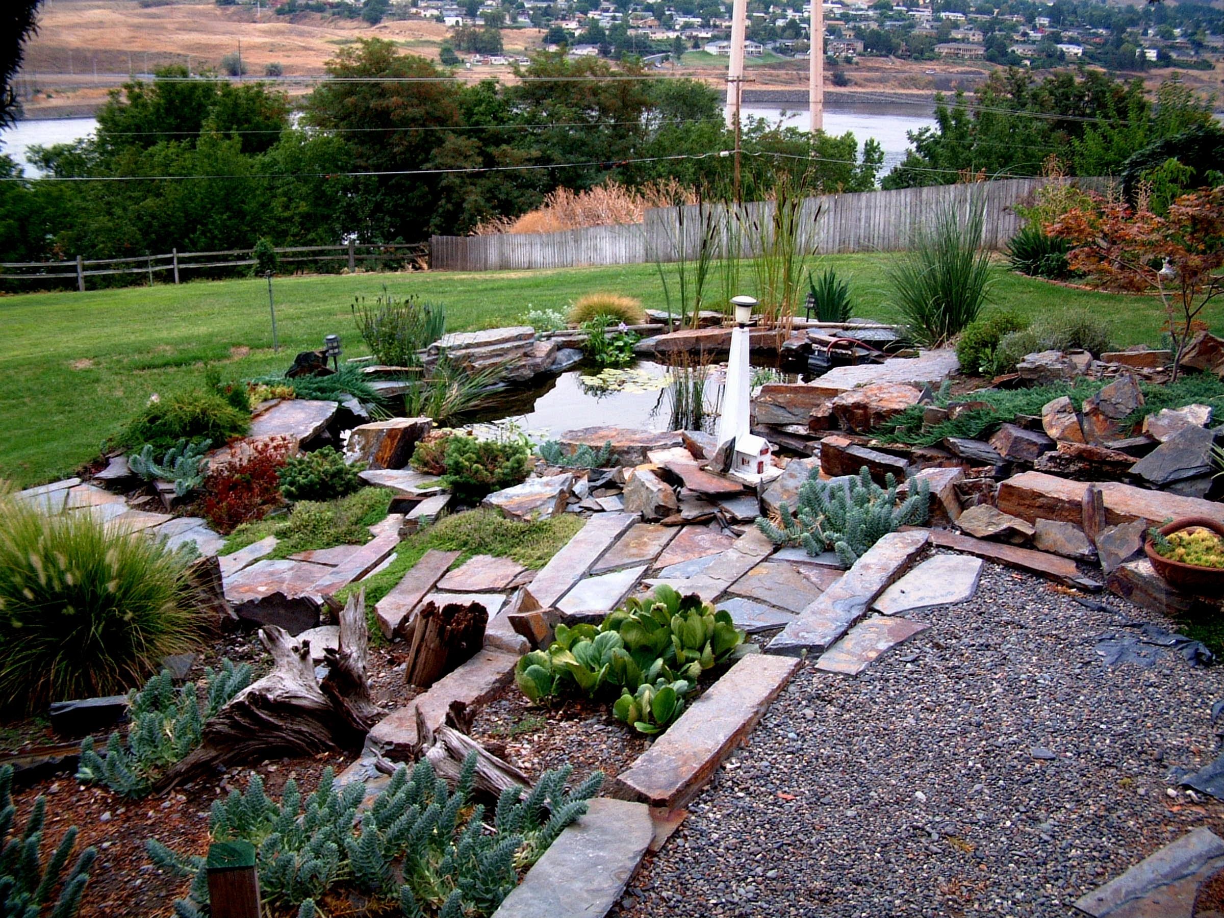 Image of: Astonishing Hillside Erosion Control Landscaping Ideas For Garden Pertaining To Decorative Rocks For Landscaping Decorative Rocks For Landscaping Ideas