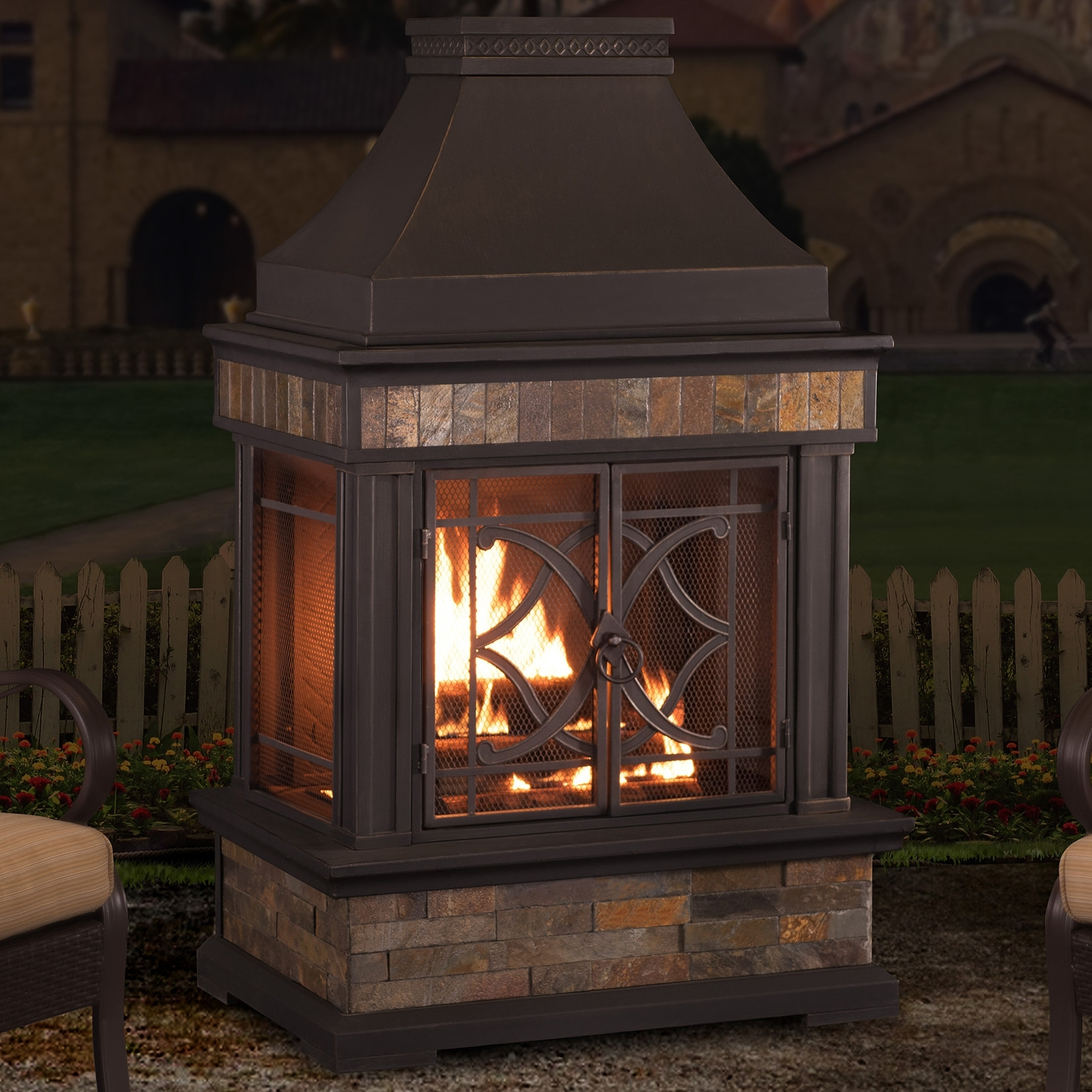 Image of: Awesome Outdoor Fireplace Reviews Home Design Planning Best On Throughout Inexpensive Outdoor Fireplace Popular Today Inexpensive Outdoor Fireplace
