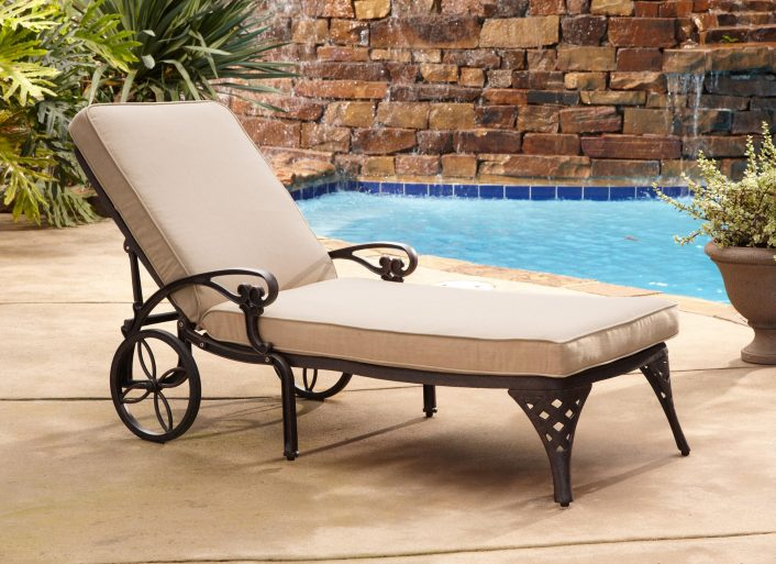 Ba Nursery Modern Chaise Lounge Chairs Black Wicker Rattan Within Outdoor Lounge Chairs With Cushions Outdoor Lounge Chairs With Cushions