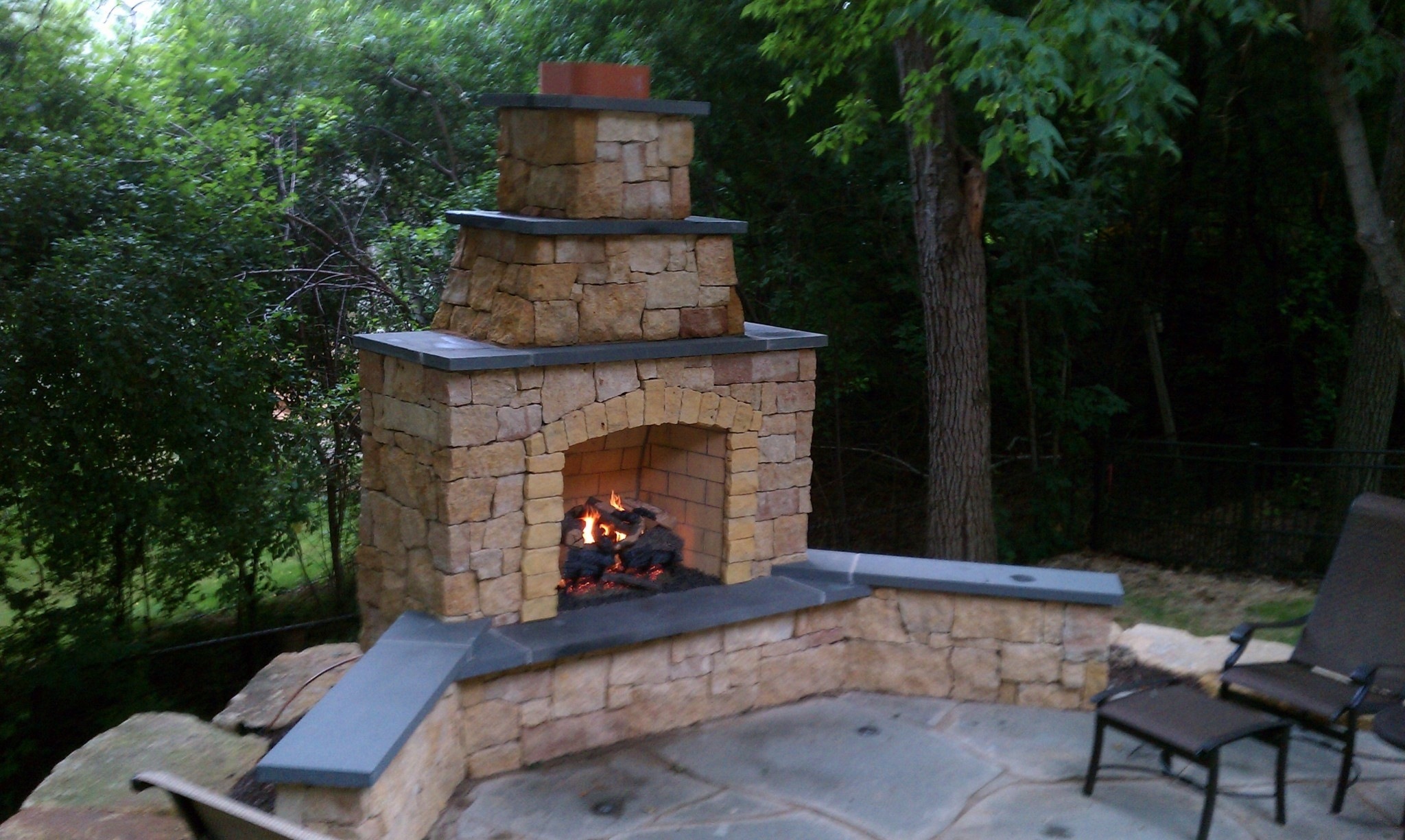 Image of: Backyard Fire Pits Outdoor Fireplaces Tri Cities Wa Kennewick Regarding Inexpensive Outdoor Fireplace Popular Today Inexpensive Outdoor Fireplace