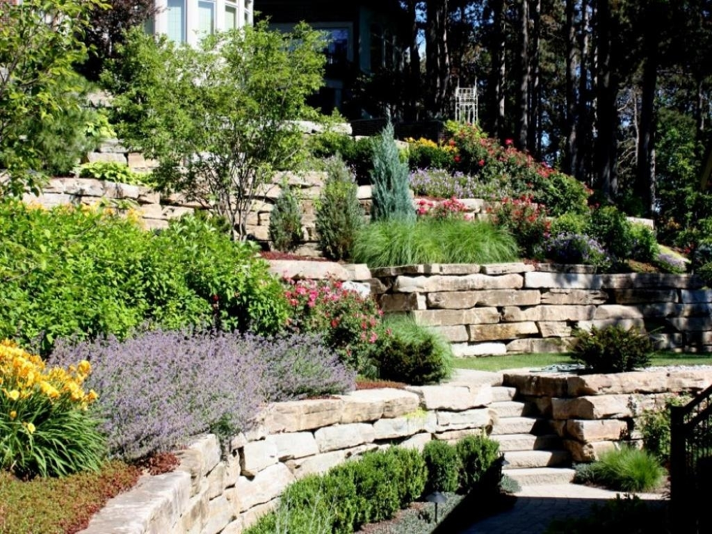 Image of: Backyard Hillside Landscape Ideas Designs Ideas And Decor Intended For Hillside Landscape Ideas Creative Hillside Landscape Ideas