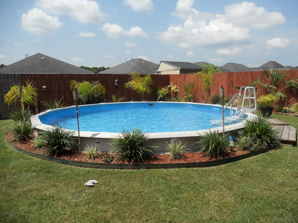 Image of: Best 20 Above Ground Pool Landscaping Ideas On Pinterest Regarding Above Ground Pool Landscaping Ideas Above Ground Pool Landscaping