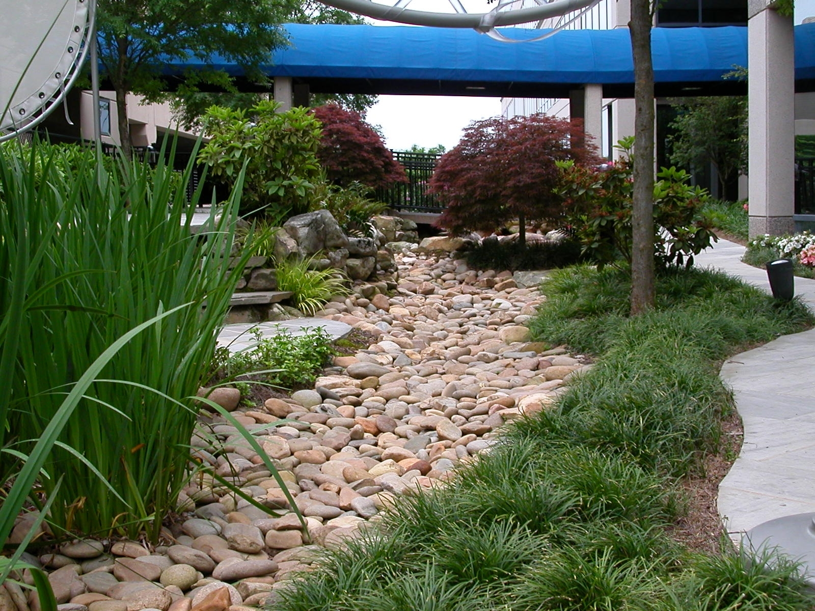 Best 25 Drainage Ditch Ideas On Pinterest Dry Creek Dry With Regard To Dry Riverbed Landscape Create Dry Riverbed Landscape Ideas