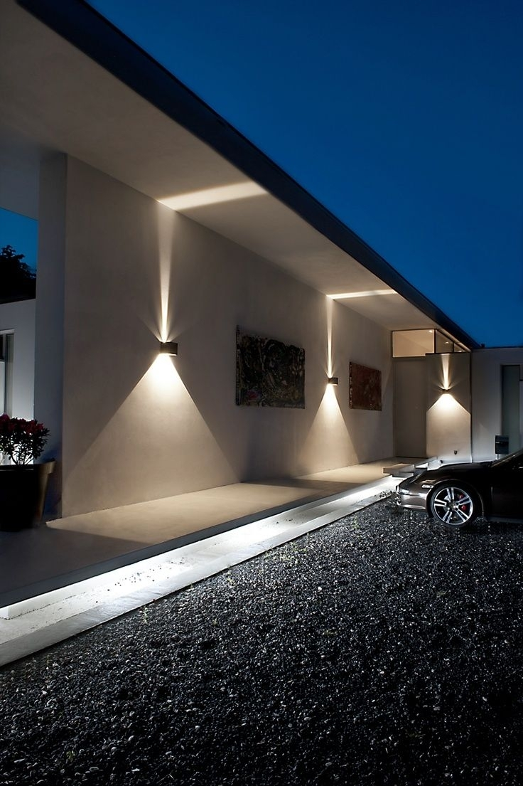 Image of: Best 25 Led Exterior Lighting Ideas On Pinterest Asian Wall For Outdoor Lighting Designs Outdoor Lighting Designs In Facades
