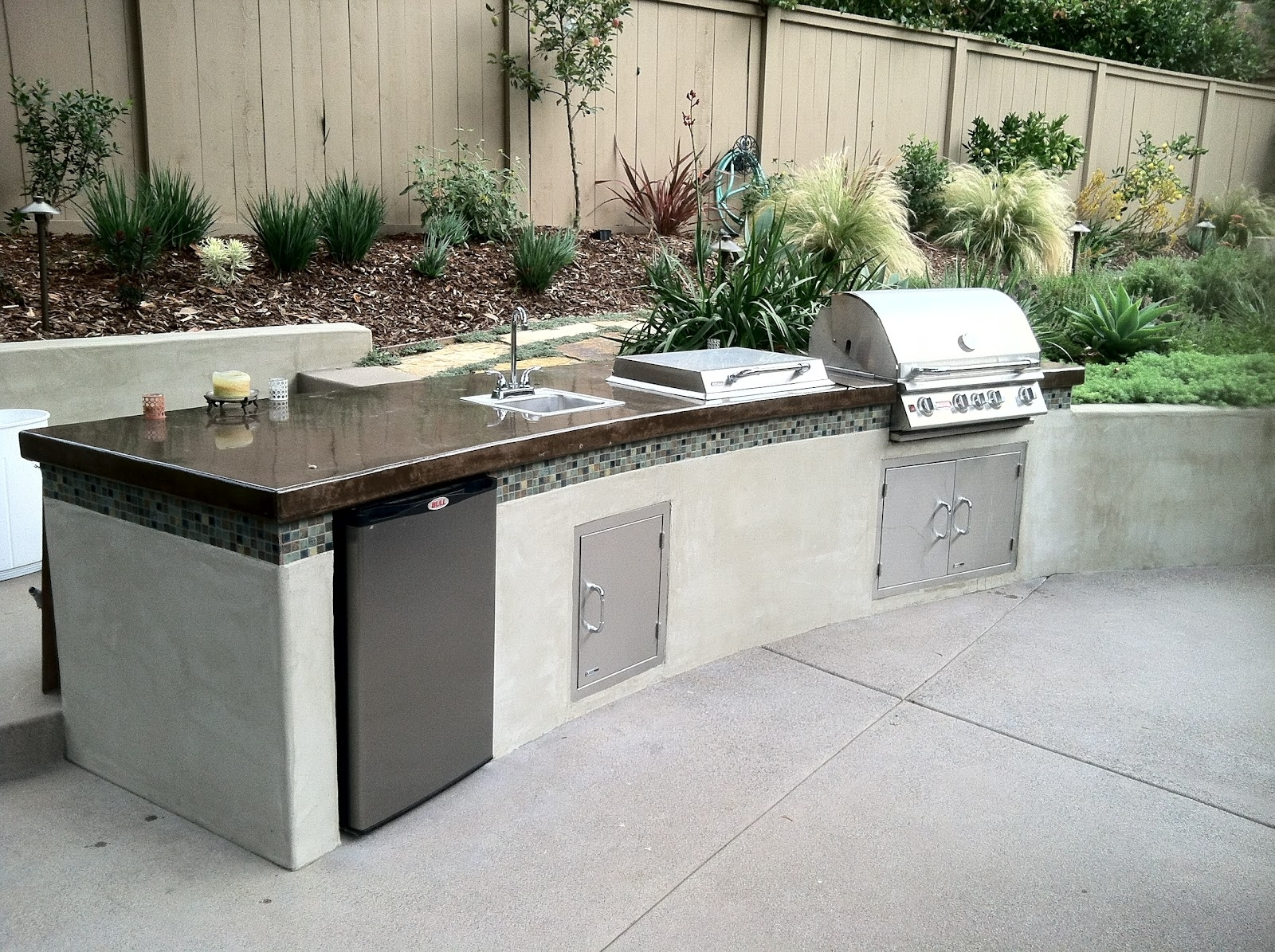 Best 25 Modern Outdoor Kitchen Ideas On Pinterest Asian Outdoor Within Outdoor Kitchen Work Table Outdoor Kitchen Work Table Ideas