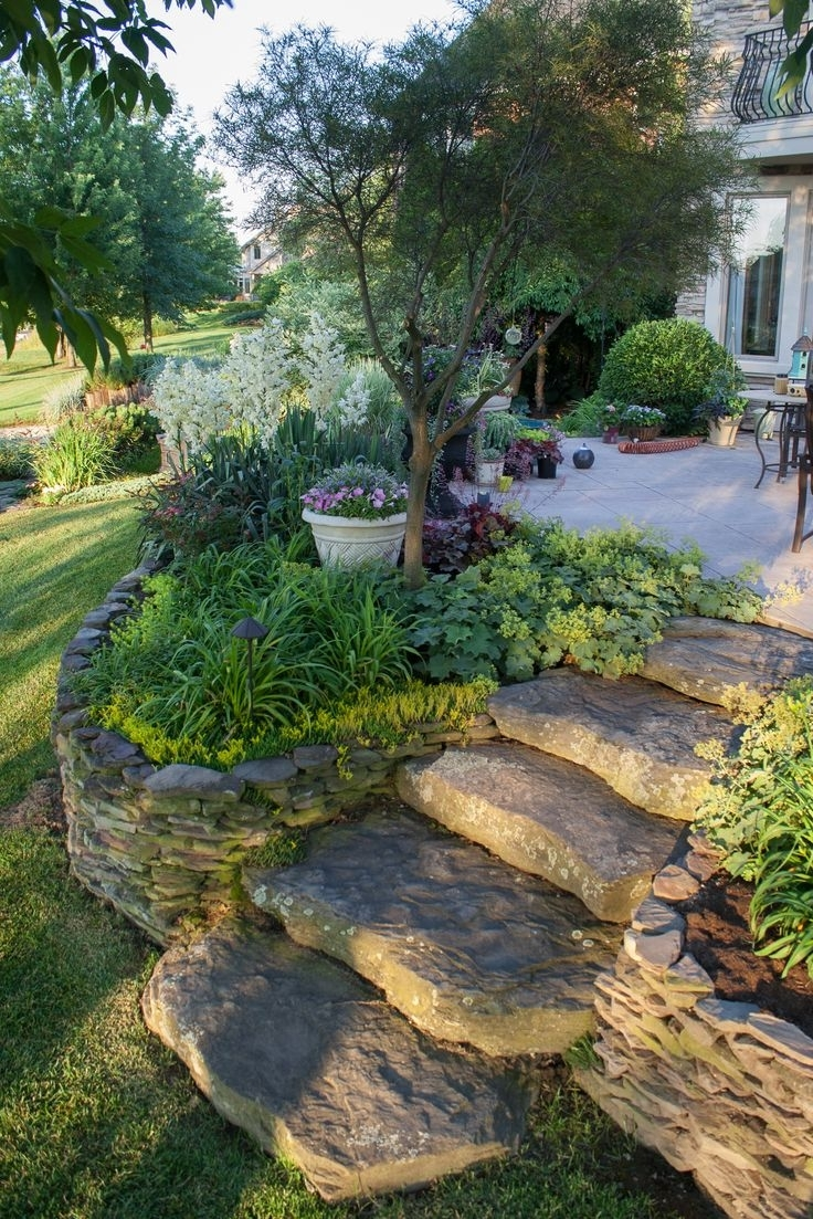 Image of: Best 25 Rock Steps Ideas On Pinterest Stone Stairs Outdoor With Fake Rocks For Landscaping Affordable Fake Rocks For Landscaping
