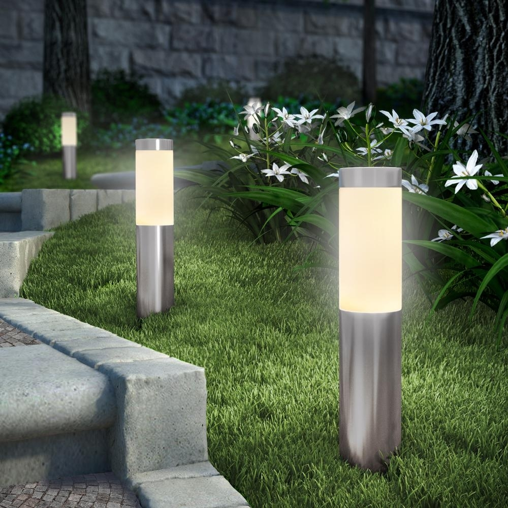Image of: Light Fixture Outdoor Bollard Lighting Style