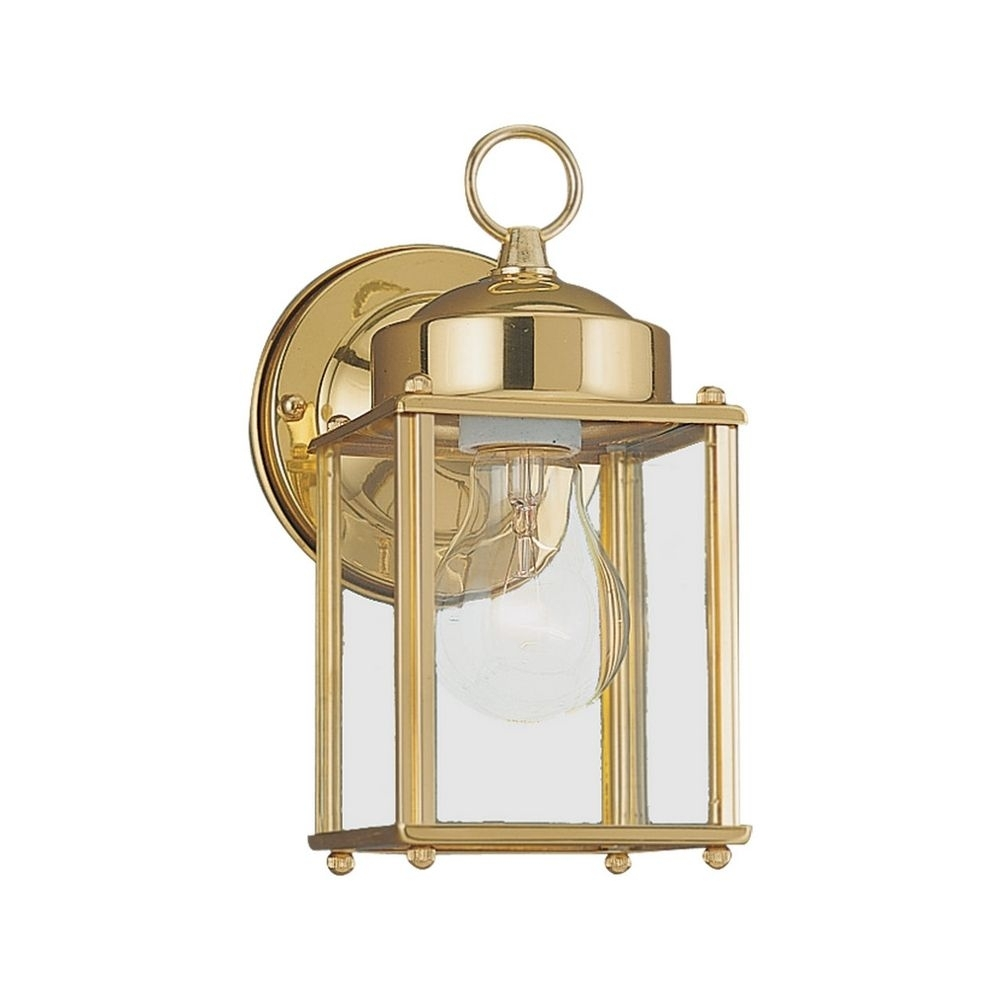 Image of: Brass Outdoor Wall Lights Offer Maximum Beam Spread Lighting Throughout Brass Outdoor Lights Brass Outdoor Lights Beautify Exterior