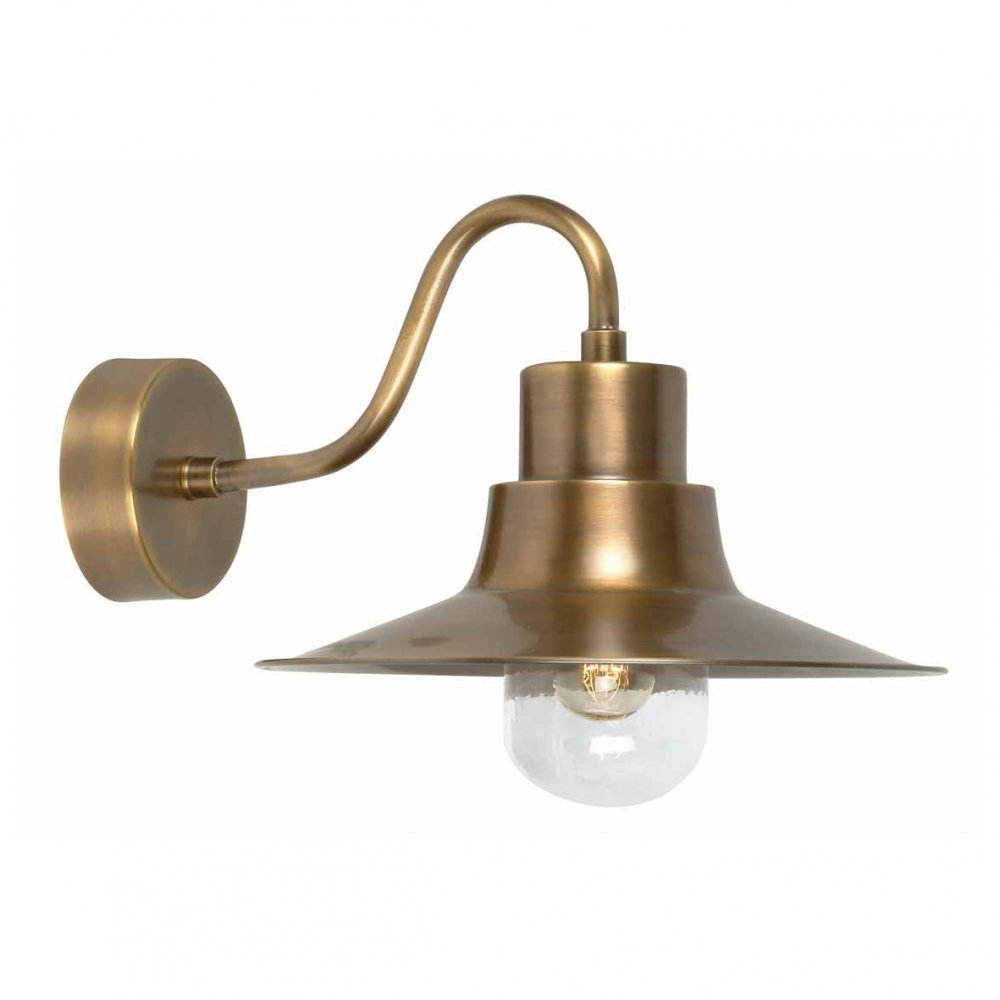 Brass Wall Lamp Lighting And Ceiling Fans In Brass Outdoor Lights Brass Outdoor Lights Beautify Exterior