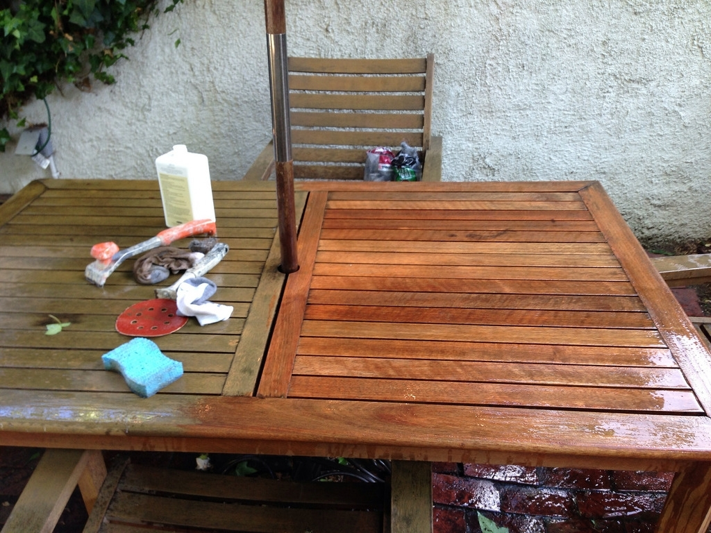Image of: Bringing Teak Outdoor Furniture Back From The Brink Old Town Home Intended For Cleaning Outdoor Teak Furniture Ideal Cleaning Outdoor Teak Furniture