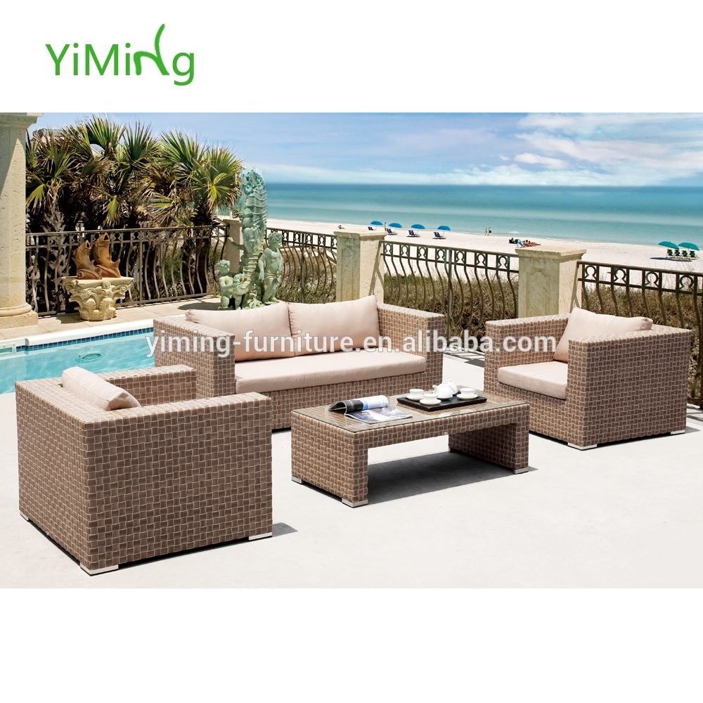 Image of: Calamba New Hotel Sythetic Wicker Rattan Lounge Sofa Outdoor For Outdoor Hotel Furniture Good And Cozy Outdoor Hotel Furniture