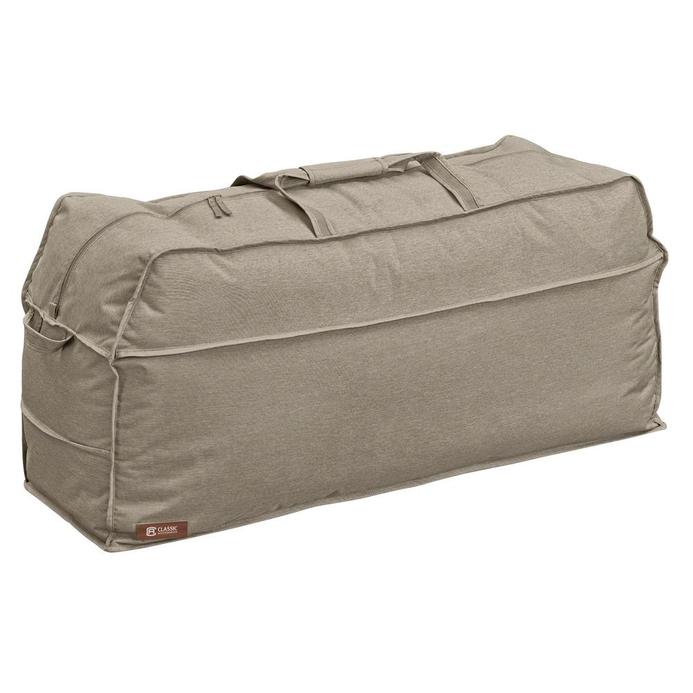 Image of: Classic Accessories Montlake Patio Cushion Storage Bag 55 673 Pertaining To Outdoor Cushion Storage Bags To Save At Outdoor Cushion Storage Bags