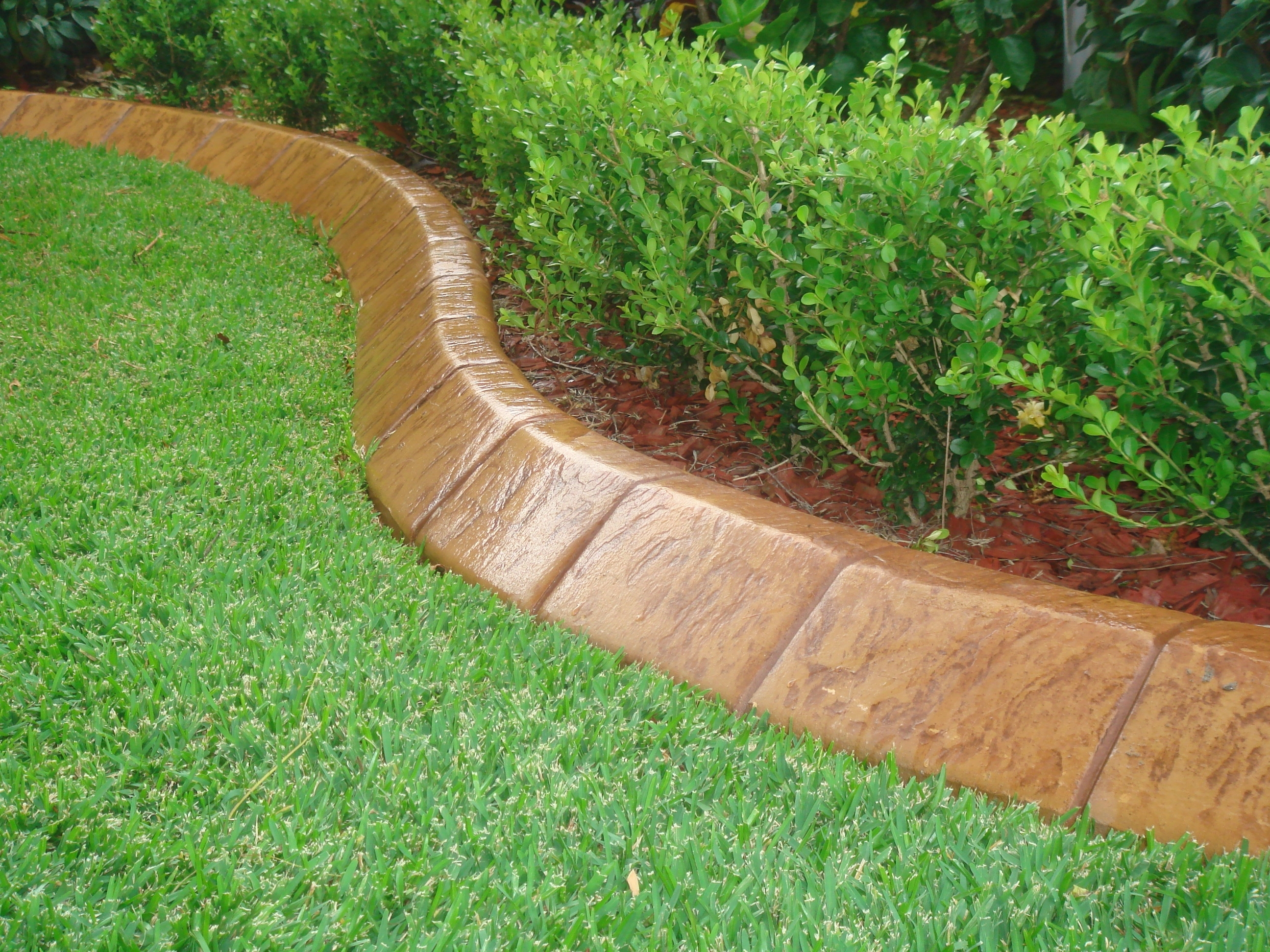 Image of: Concrete Garden Edging Sydney Kwik Kerb 0433 115 040 Throughout Aluminum Landscape Edging Great Idea Of Aluminum Landscape Edging