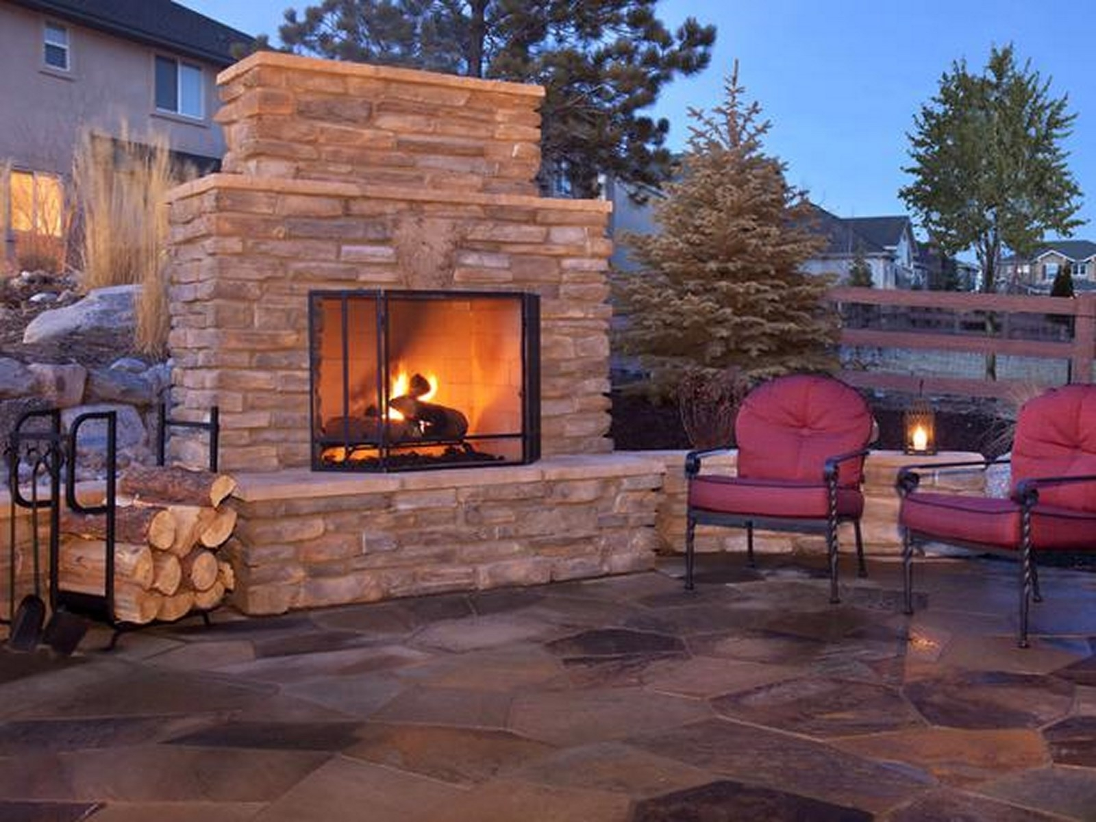 Image of: Contemporary Outdoor Fireplace Ideas Design Plans Modern Iranews Within Modern Fireplace Outdoor Modern Fireplace Outdoor Installation