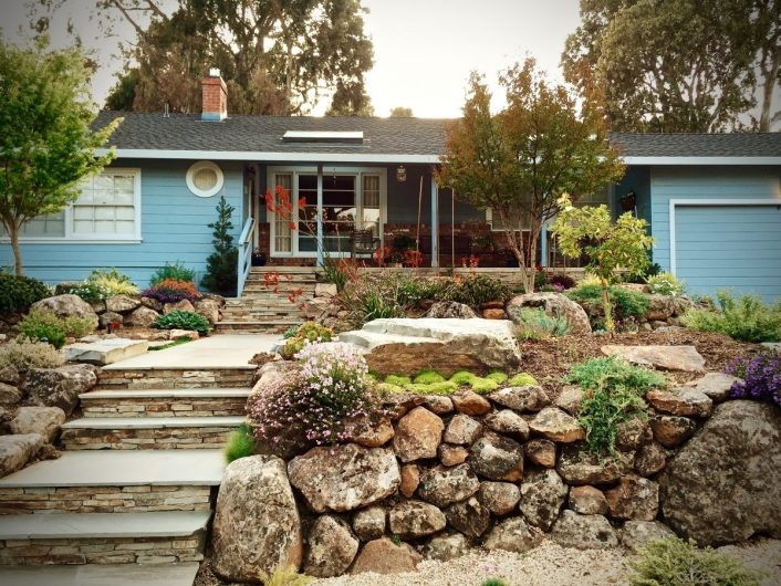 Create A Beautiful Drought Resistant Front Yard With Drought Friendly Landscaping Create Beautiful Drought Friendly Landscaping