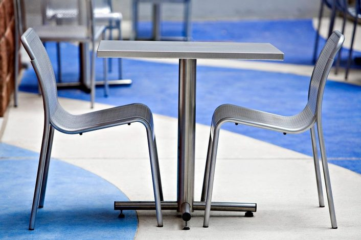 Cross Table Outdoor Formssurfaces With Regard To Outdoor Stainless Steel Furniture Great Outdoor Stainless Steel Furniture