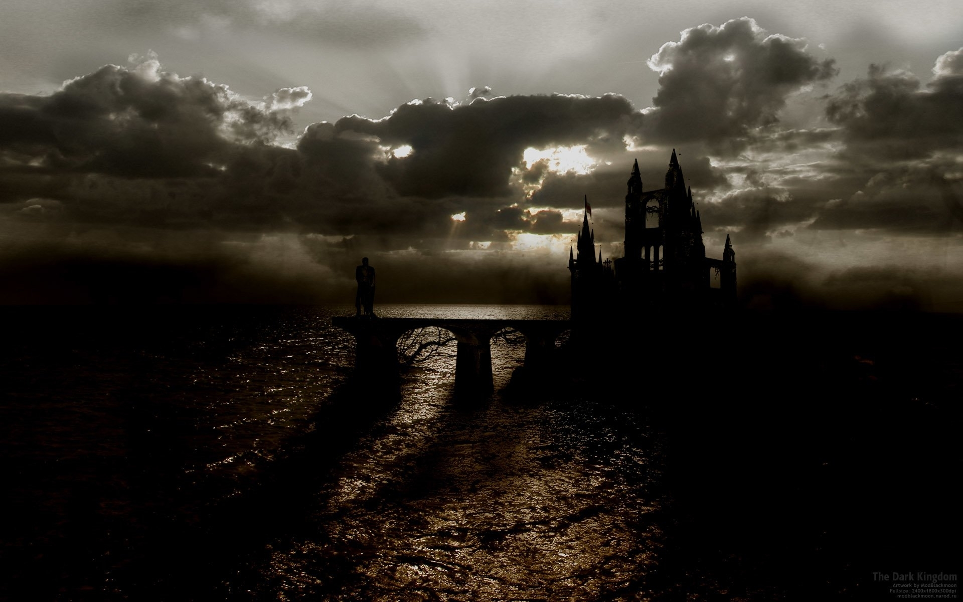 Image of: Dark Gothic Landscape Wallpapers Inside Gothic Landscape Gothic Landscape Ideas