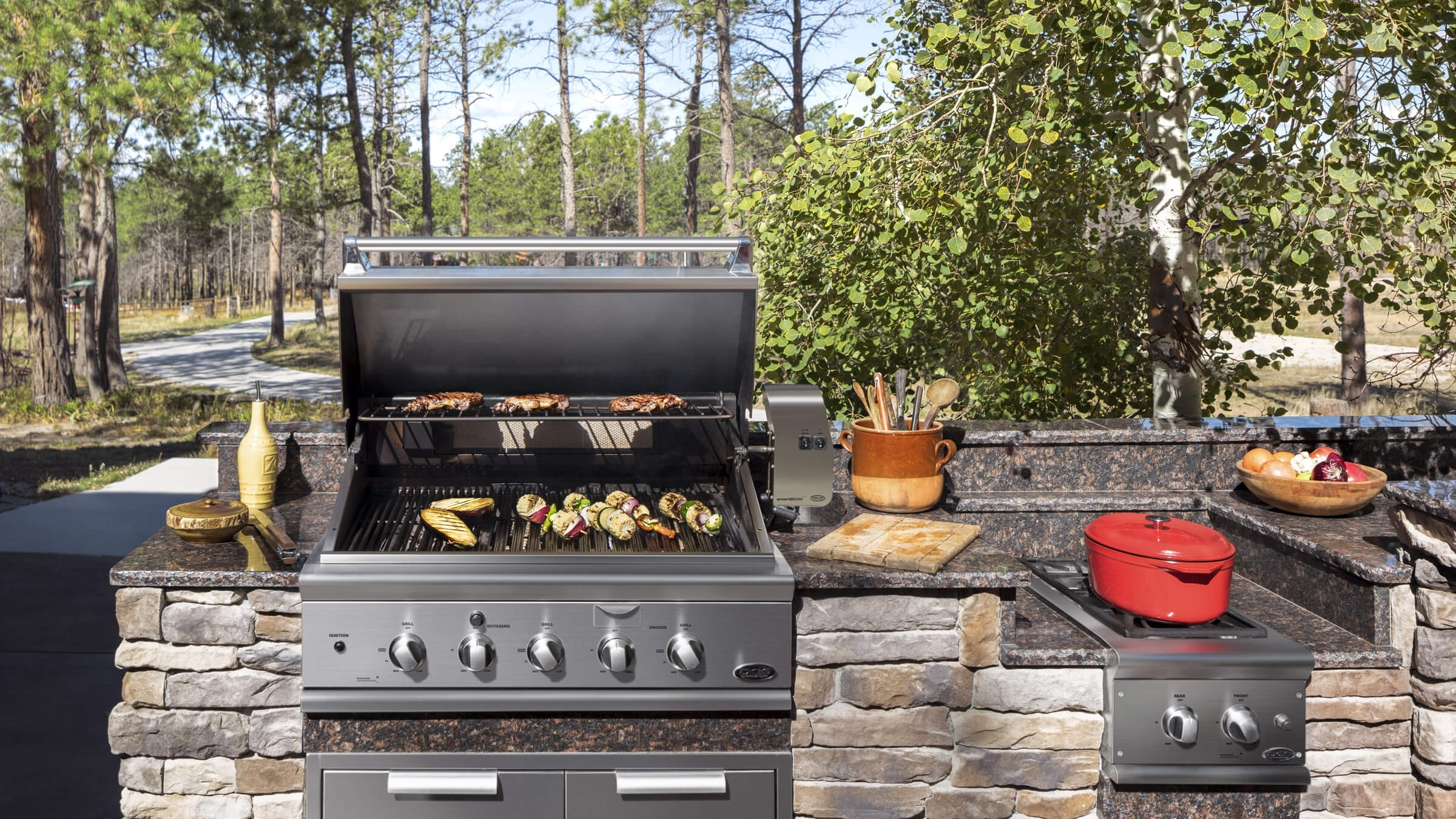 Image of: Dcs Outdoor Grills And Appliances In Outdoor Kitchen Beverage Center Good Outdoor Kitchen Beverage Center