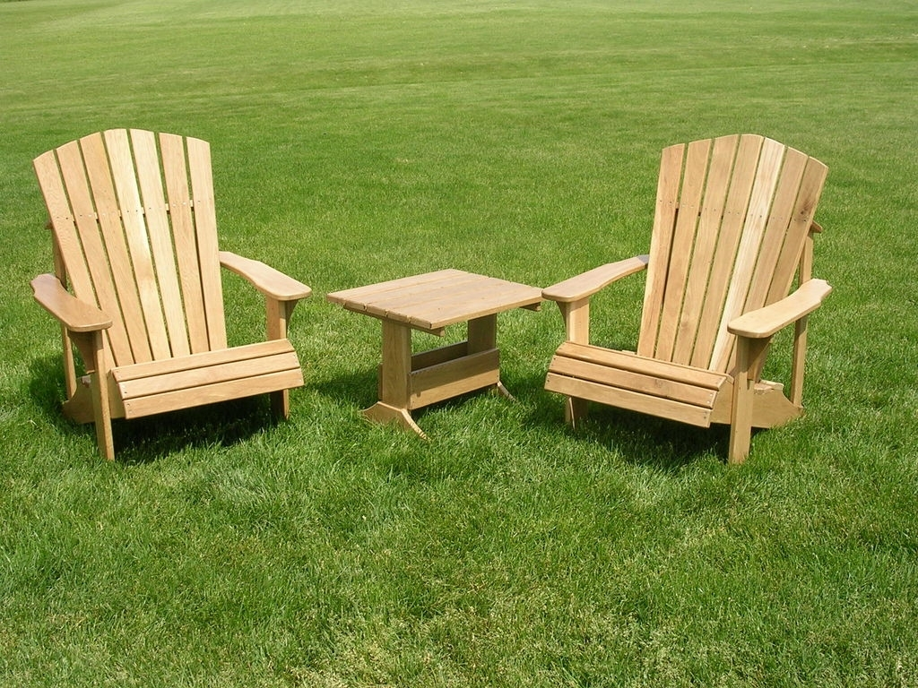 Image of: Diy Wooden Patio Chair Assembling Cedar Patio Chair Armrests Wood In White Oak Outdoor Furniture Good Protector For White Oak Outdoor Furniture
