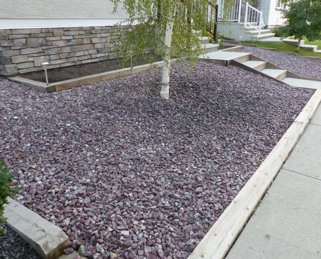 Image of: Do It Yourself Landscaping Ideas Diy Burnco Intended For Decorative Landscape Gravel Different Types Decorative Landscape Gravel