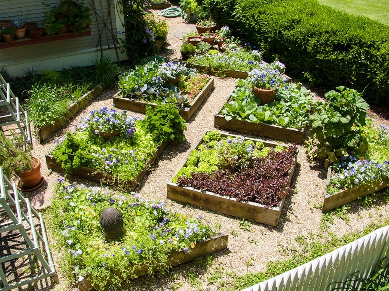 Image of: Edible Landscaping Growing Your Own Food Hgtv Regarding Edible Landscape Design Good Ideas Edible Landscape Design