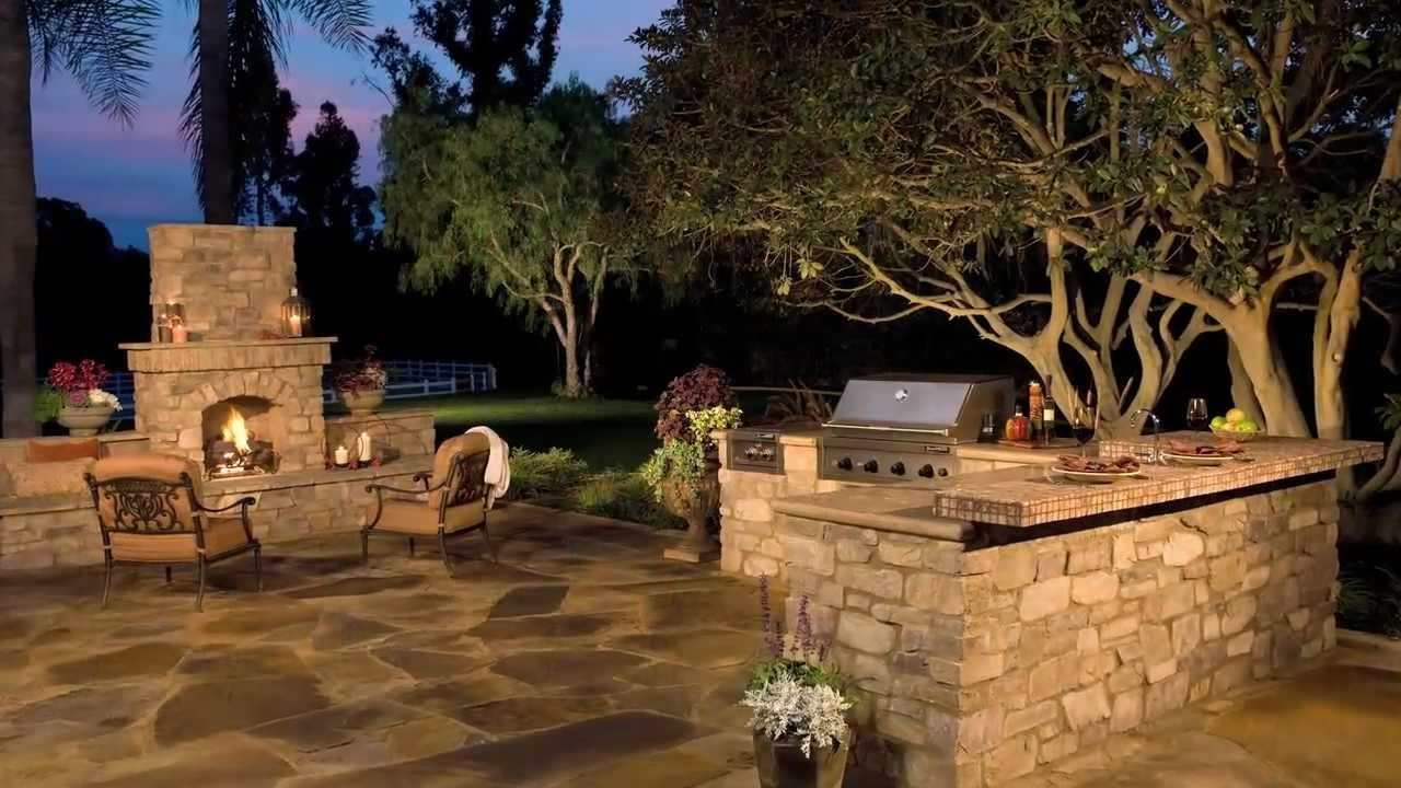 Image of: Eldorado Outdoor Eldorado Stone Youtube Intended For Eldorado Stone Outdoor Kitchen Eldorado Stone Outdoor Kitchen