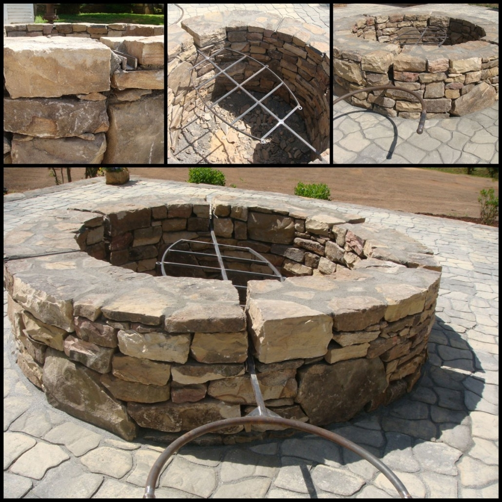 Image of: Experts In Bbq Fire Pits And Outdoor Living Spaces In Landscape Fire Pits Fireplaces Landscape Fire Pits
