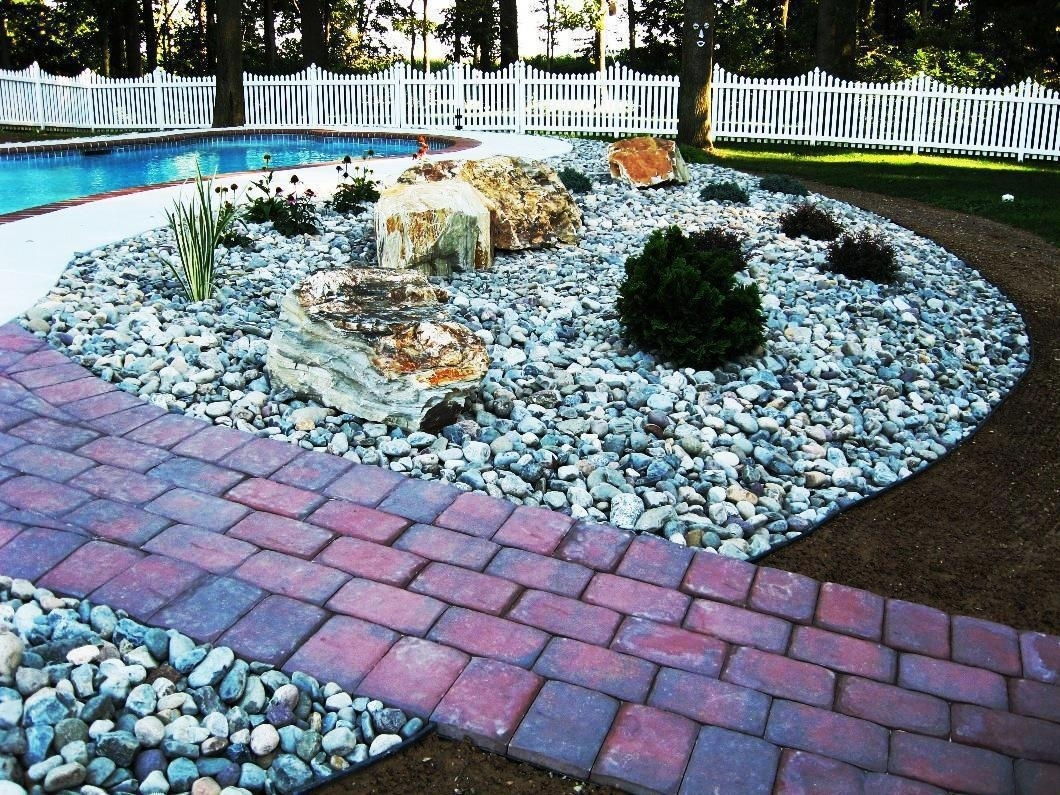 Image of: Fetching Colored Landscape Stones Crafts Home Inside Colored Rocks For Landscaping Colored Rocks For Landscaping Design