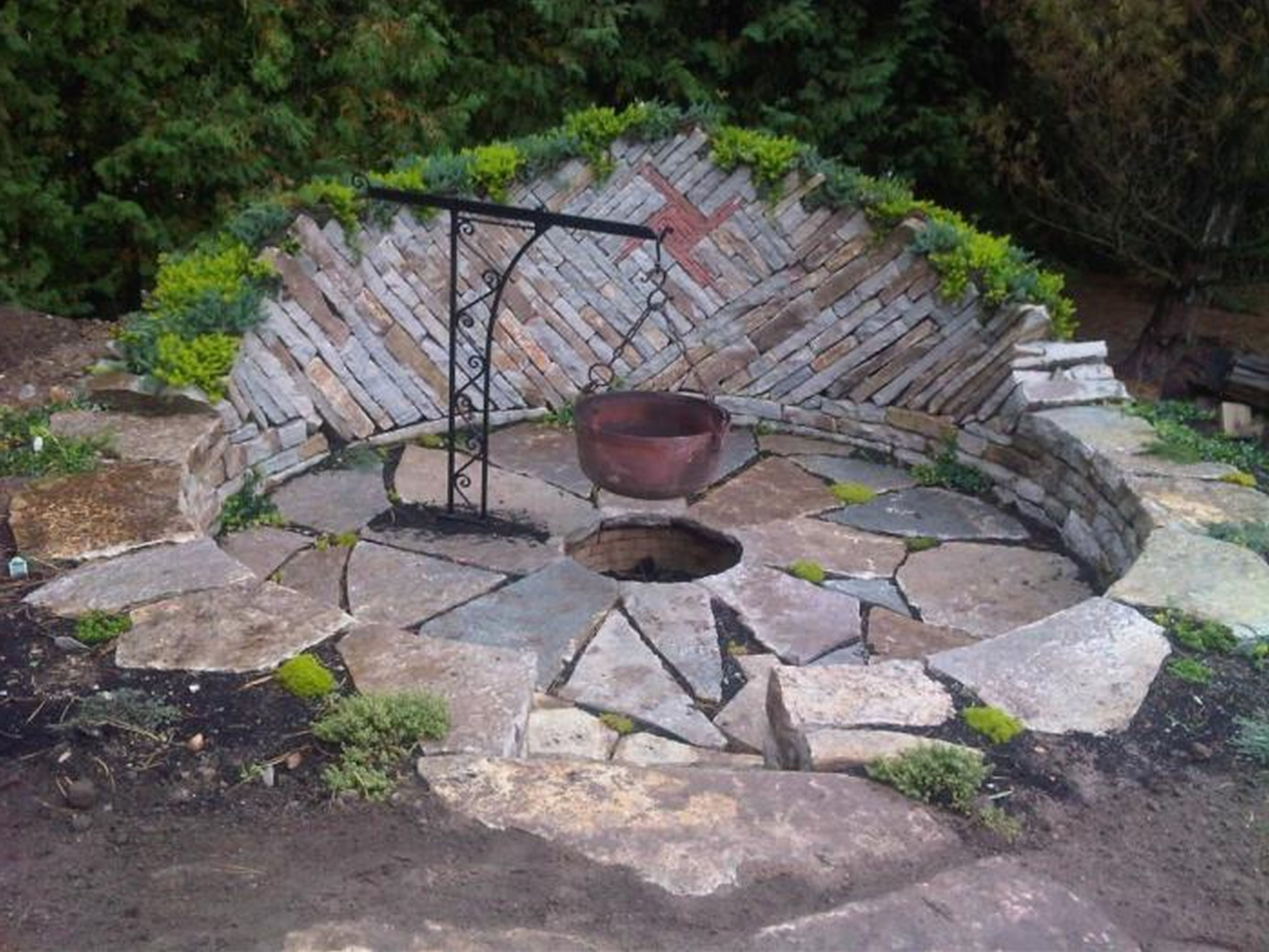 Image of: Fire Pit And Outdoor Fireplace Ideas Diy Network Made Inspirations Inside Inexpensive Outdoor Fireplace Popular Today Inexpensive Outdoor Fireplace