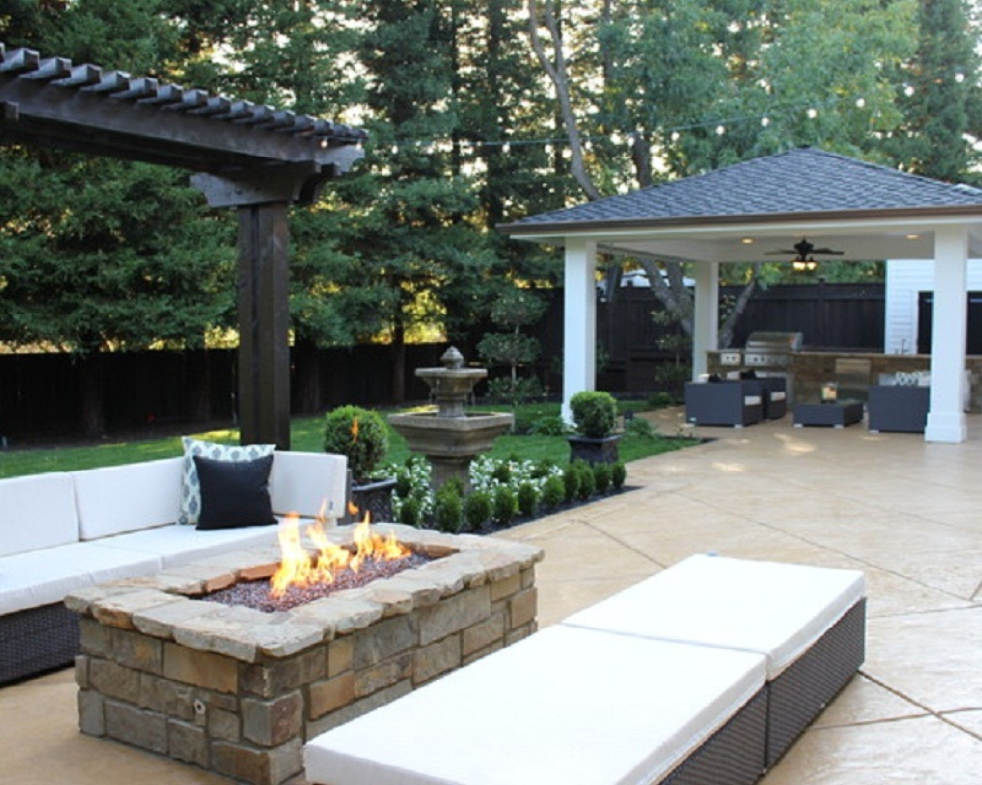 Image of: Fire Pit And Outdoor Fireplace Ideas Gallery On Rectangular Patio Intended For Inexpensive Outdoor Fireplace Popular Today Inexpensive Outdoor Fireplace