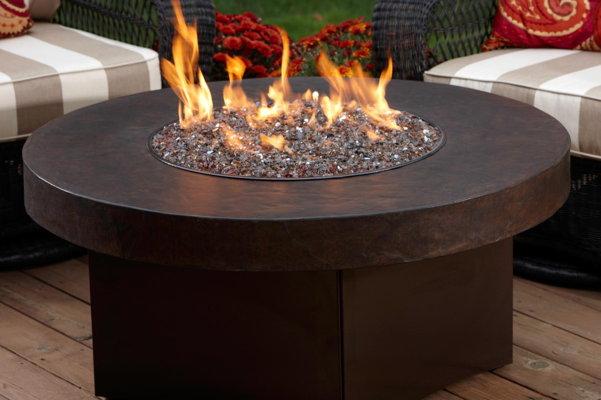 Image of: Fire Pit Best Outdoor Fire Pits Propane Design Large Round Solid In Outdoor Fireplace Burner Outdoor Fireplace Burner Clan