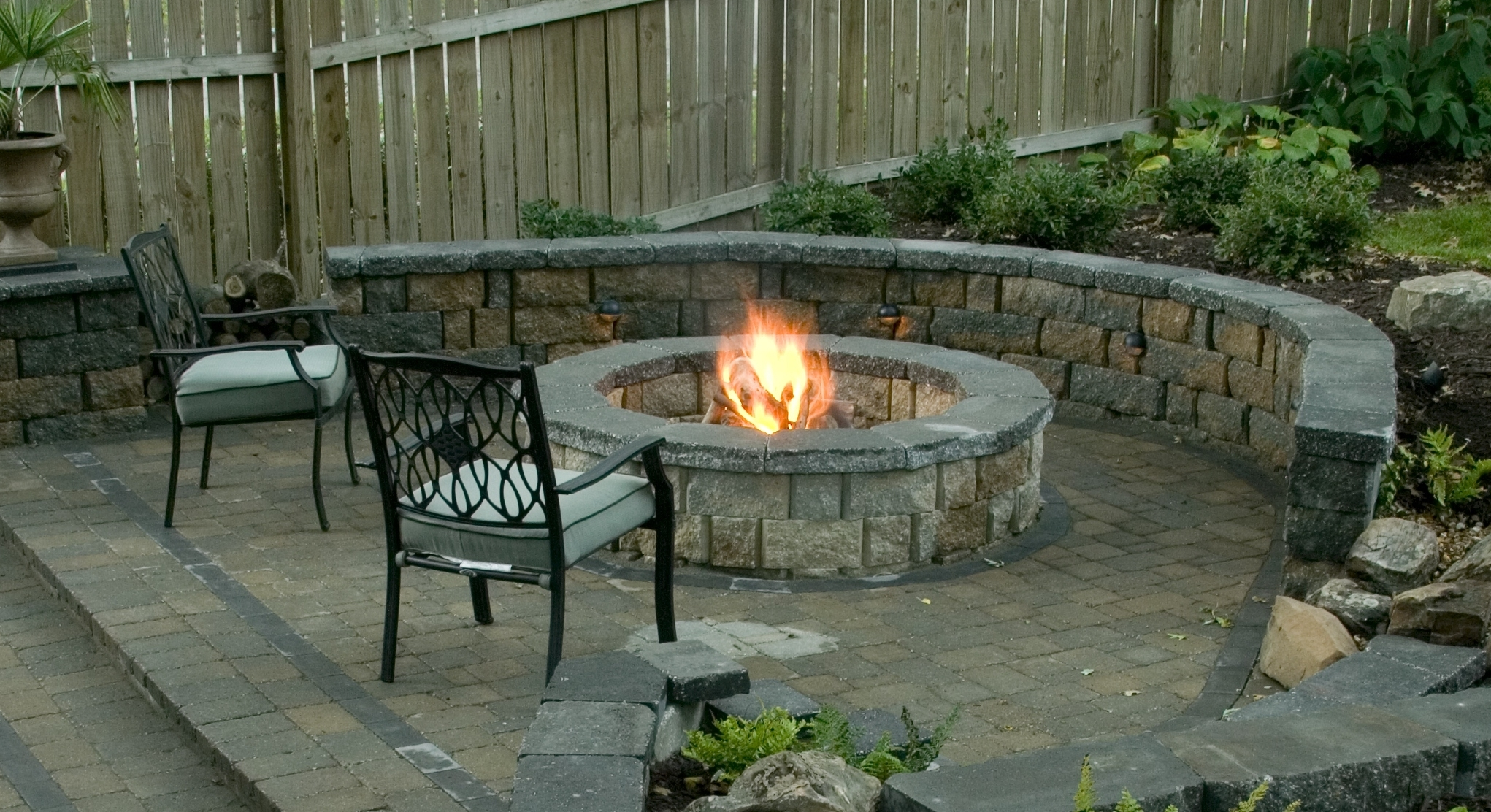 Image of: Fire Pits Bbqs Evopavers Within Landscape Fire Pits Fireplaces Landscape Fire Pits