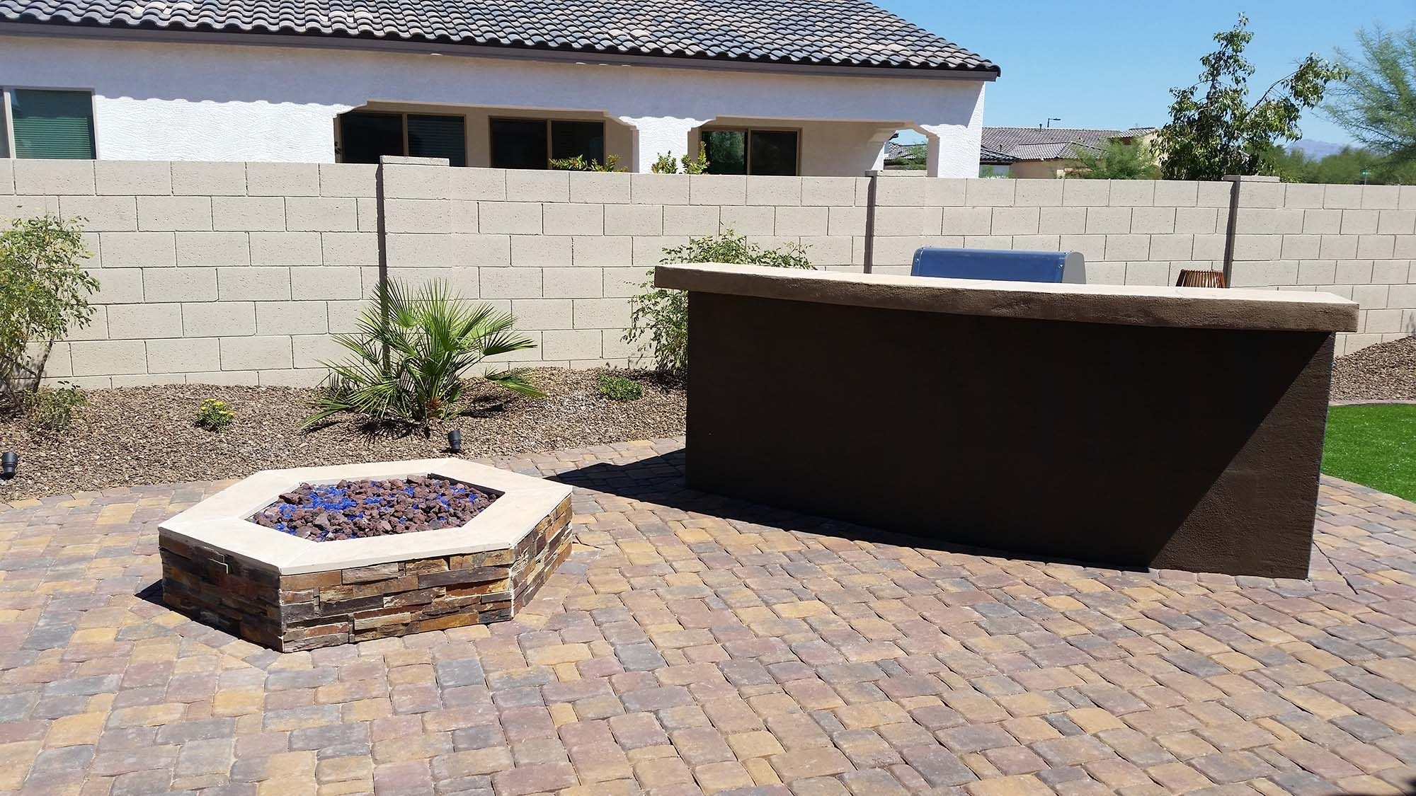Image of: Fire Pits Designed Az Living Landscape Call 480 390 4477 Within Landscape Fire Pits Fireplaces Landscape Fire Pits