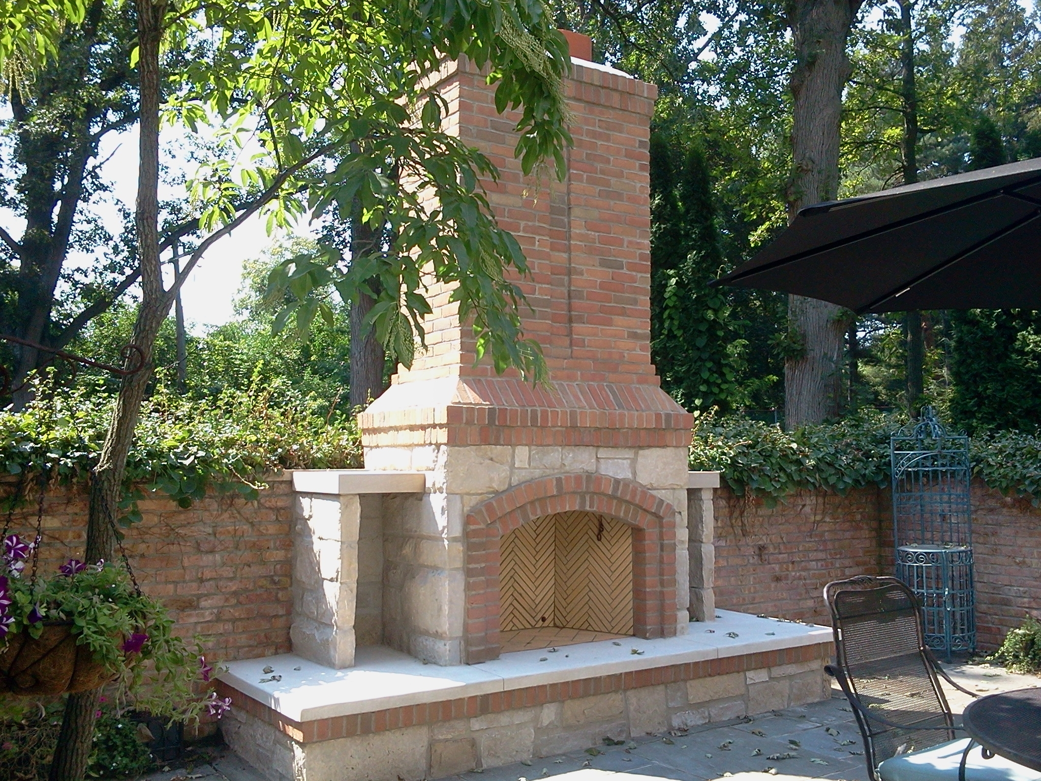 Image of: Fireplacemasonryoutdoor Fireplaces Stone Brick Albaugh Throughout Masonry Outdoor Fireplace The Right Options For Masonry Outdoor Fireplace