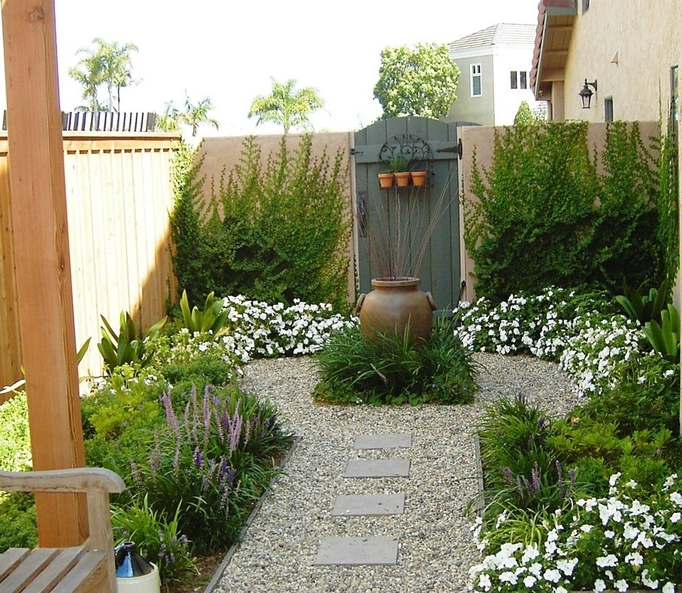 Image of: Focal Point Landscape Contemporary With Stone Statue Resin Inside Focal Point Landscaping Ideas Focal Point Landscaping