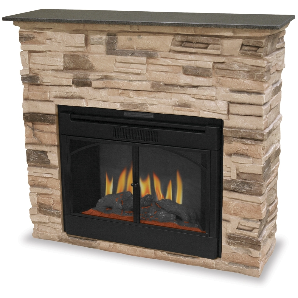 Image of: Fresh Stacked Stone Outdoor Fireplace Designs 2156 For Fake Outdoor Fireplace Build Fake Outdoor Fireplace