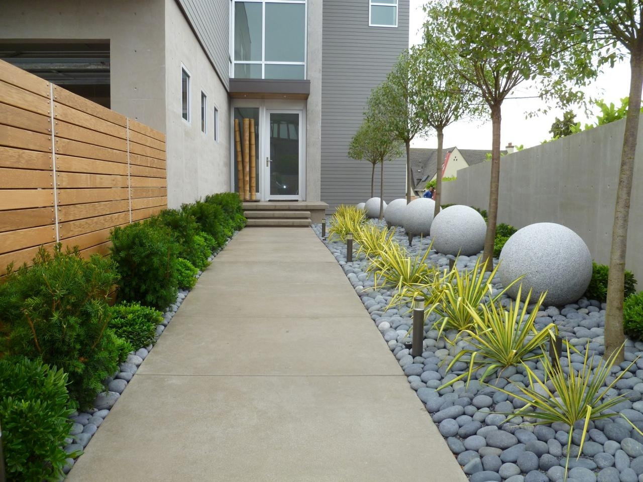Image of: Front Walkway Landscaping Ideas American Hwy Throughout Front Sidewalk Landscaping Ideas How Lay Front Sidewalk Landscaping Ideas