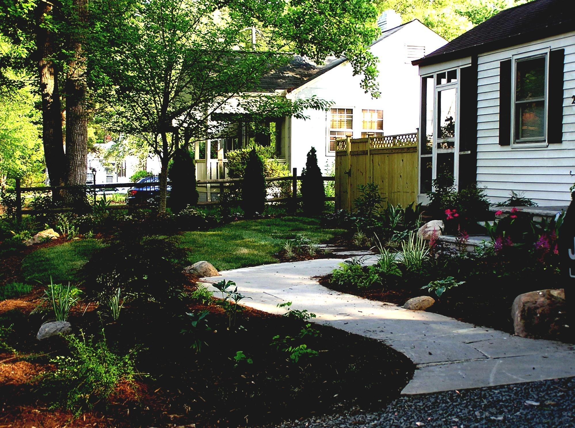 Image of: Front Yard And Backyard Landscaping Ideas Designs Idolza In Front Yard Landscaping Plans Smart Front Yard Landscaping Plans