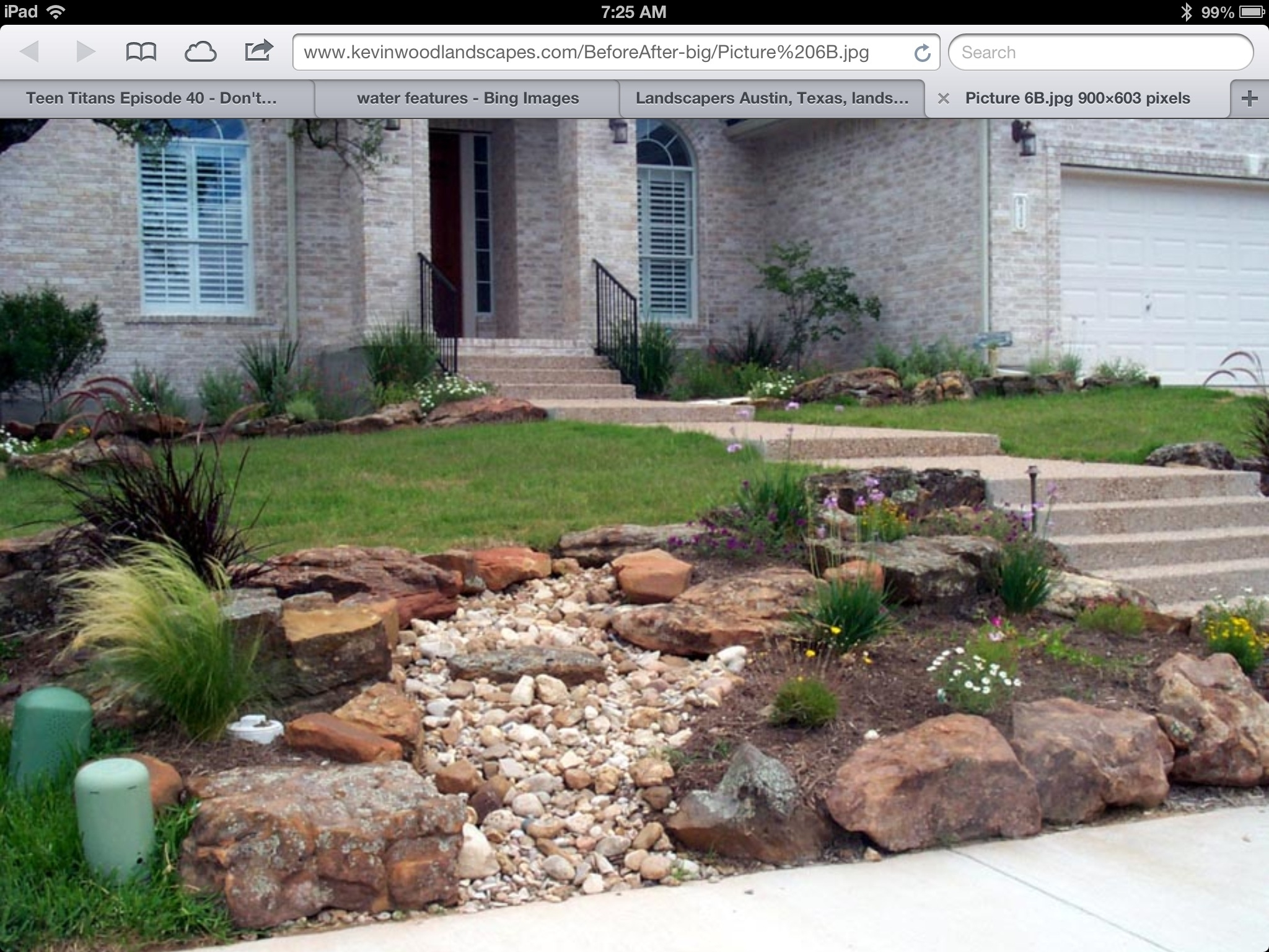 Image of: Front Yards Xeriscape Gardens Front Yard Front Yardbackyard With Front Yard Landscaping With Rocks Create Front Yard Landscaping With Rocks