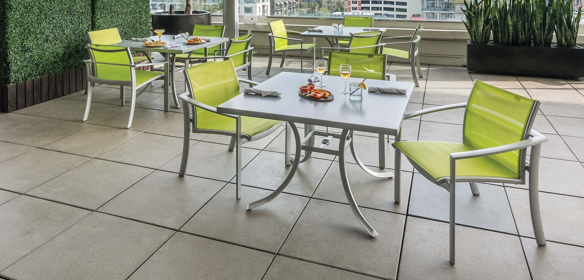 Image of: Furniture Fill Your Patio With Mesmerizing Tropitone Furniture Pertaining To Commercial Outdoor Dining Furniture Great Commercial Outdoor Dining Furniture