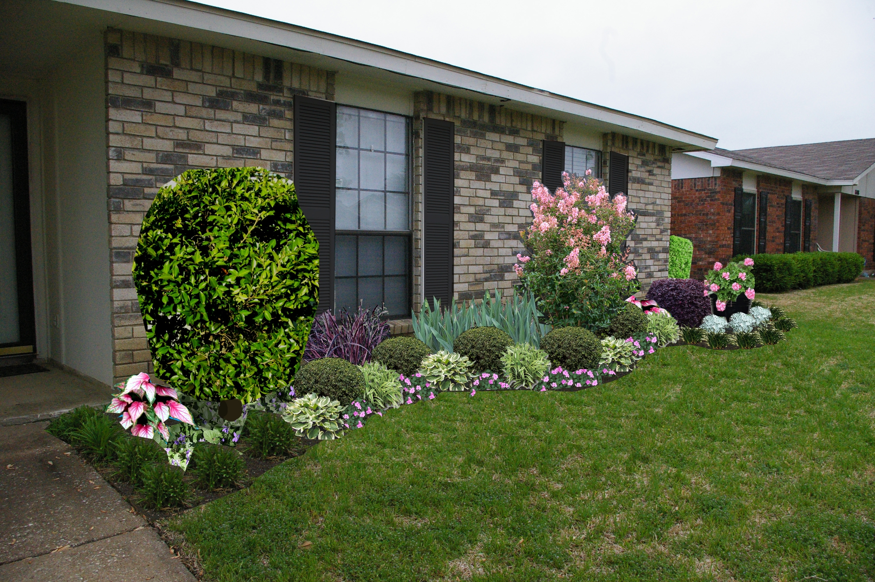 Image of: Garden Front Yard Landscaping Ideas Front Yard Landscape Ideas Inside Front Yard Landscaping Plans Smart Front Yard Landscaping Plans